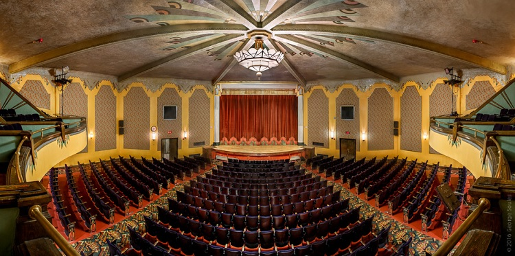 1932 Criterion Theater in Bar Harbor, Maine