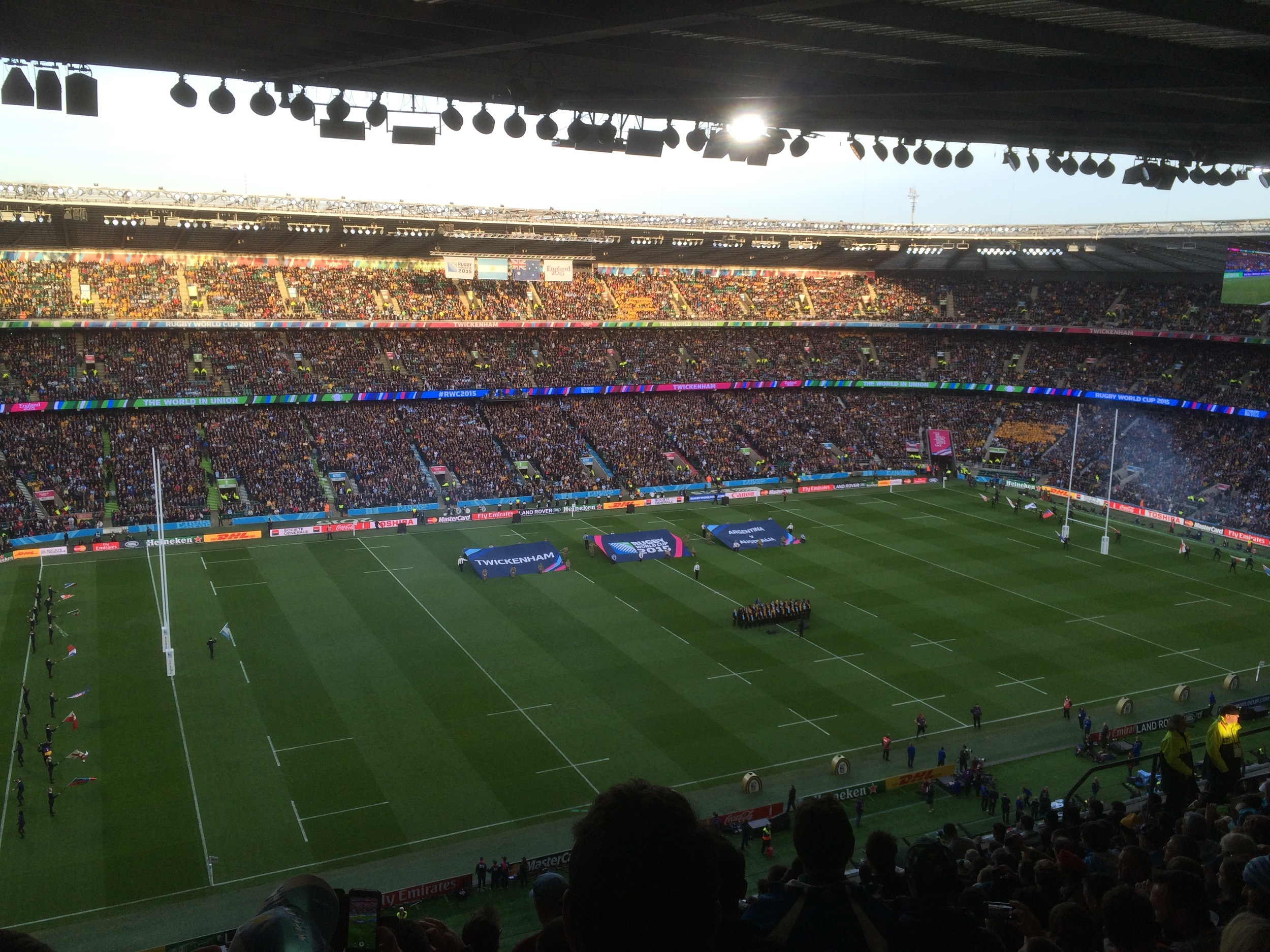 Argentina v Australia Semi Final - all about the rugby