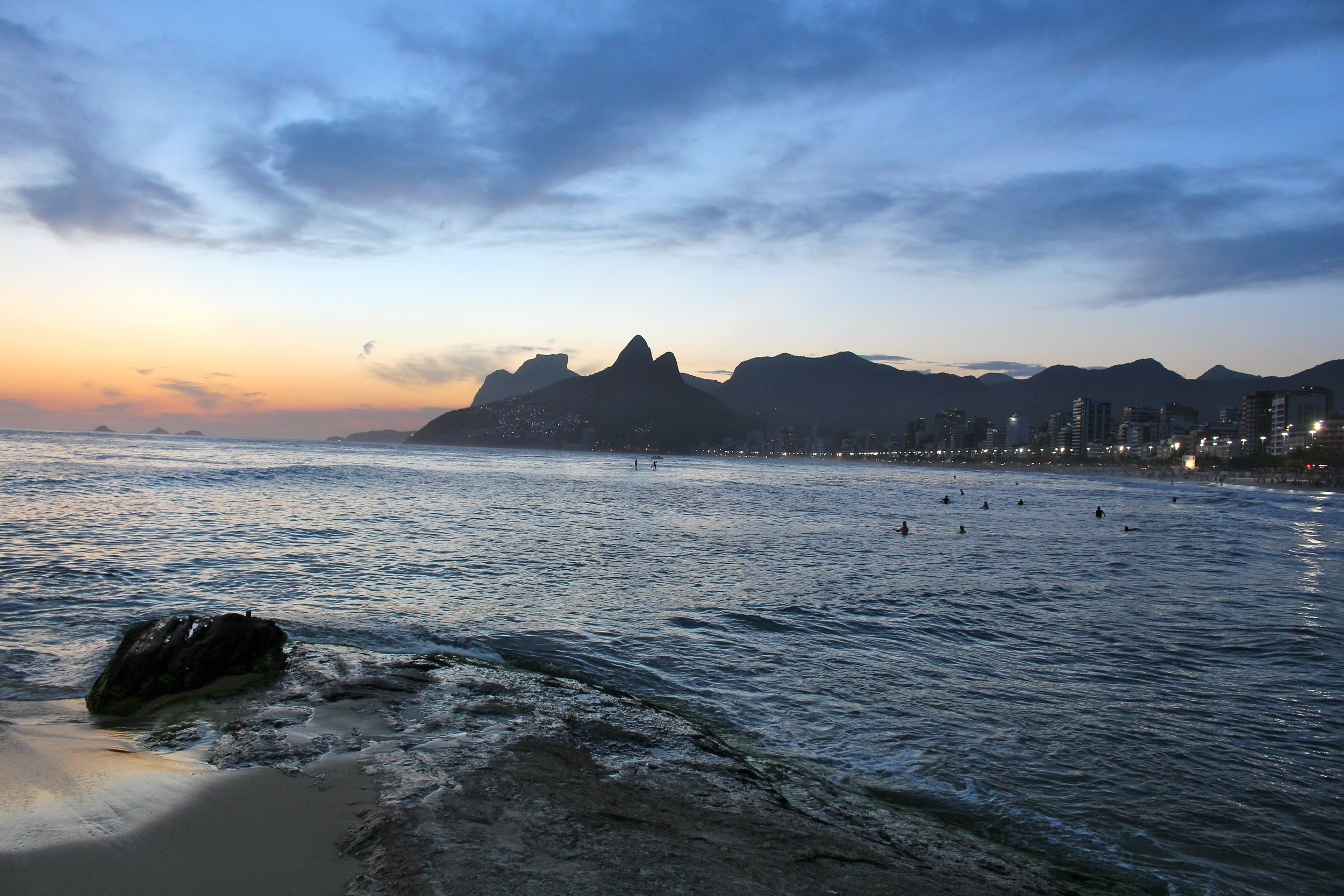 An Ipanema sunset
