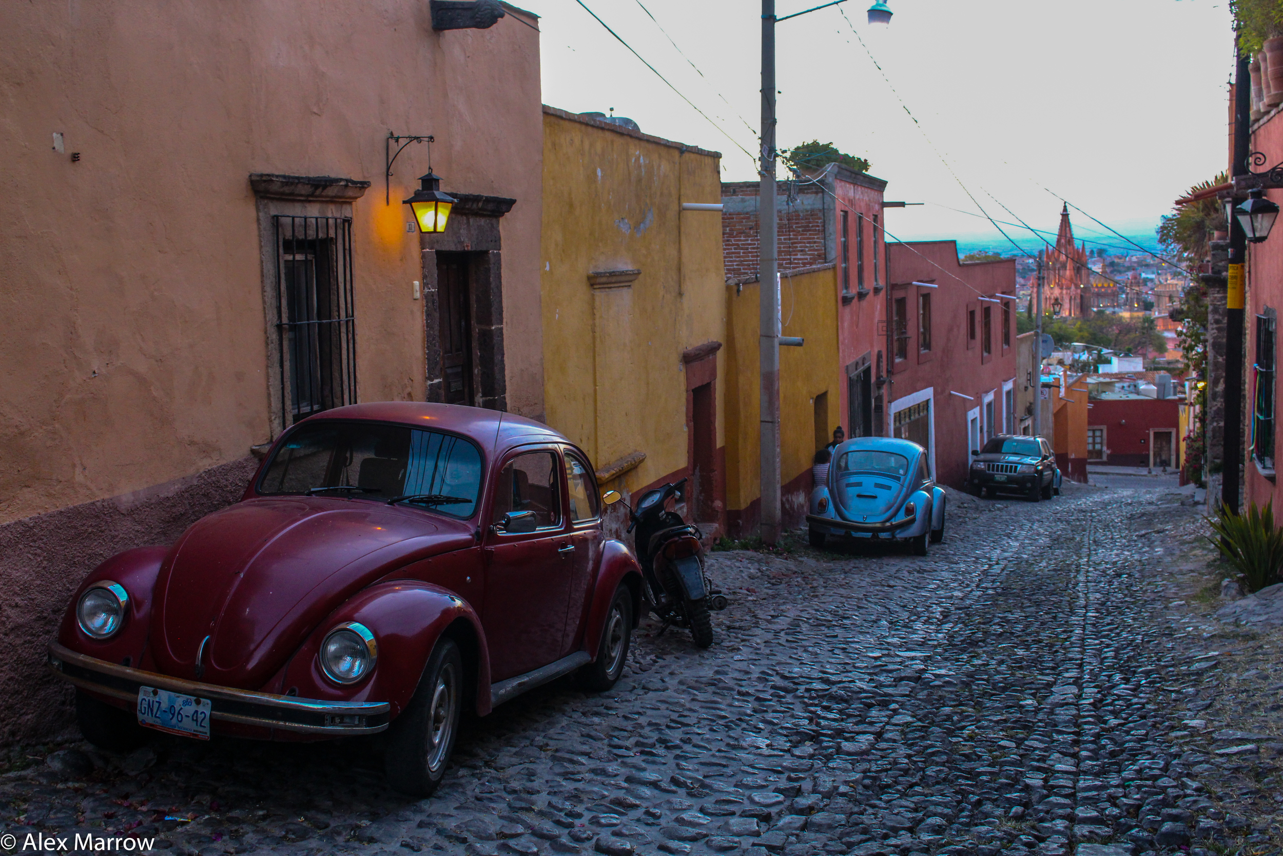 The Cobbled Streets of San Miguel de Allende