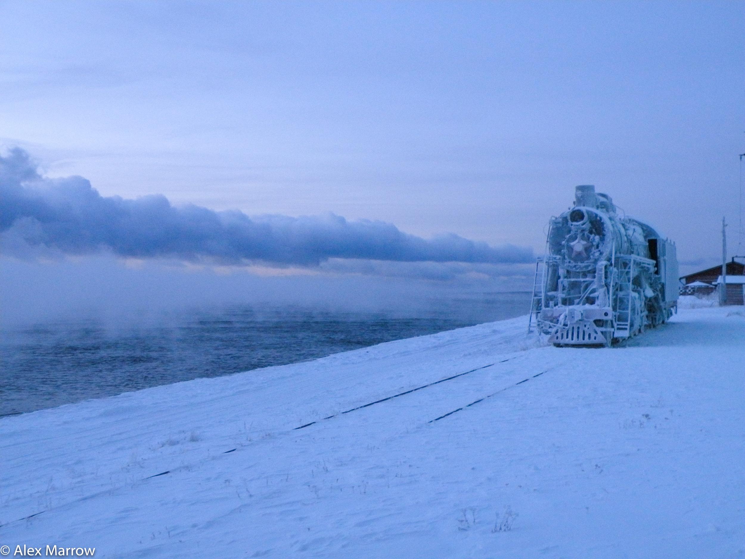 The Frozen Train, Lake Baikal