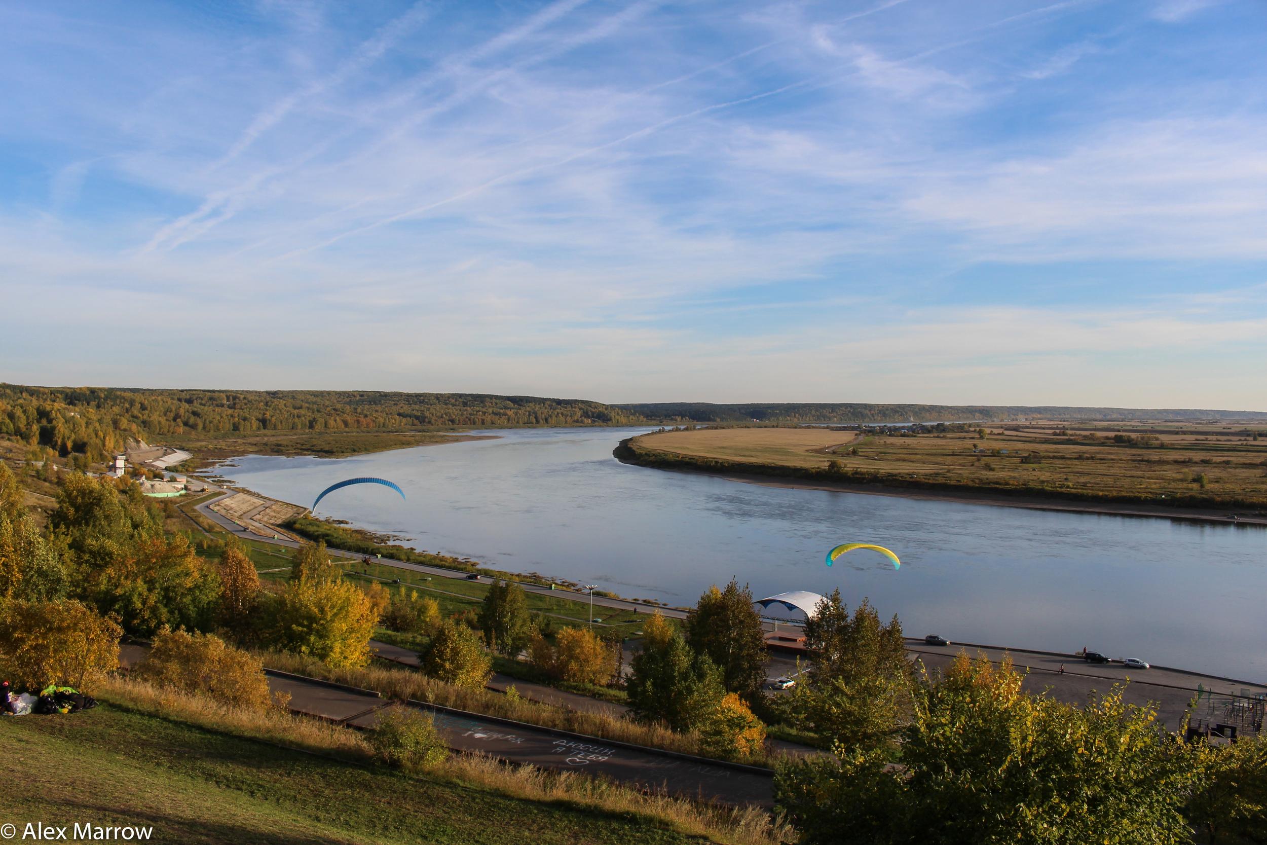 The River Tom, Tomsk