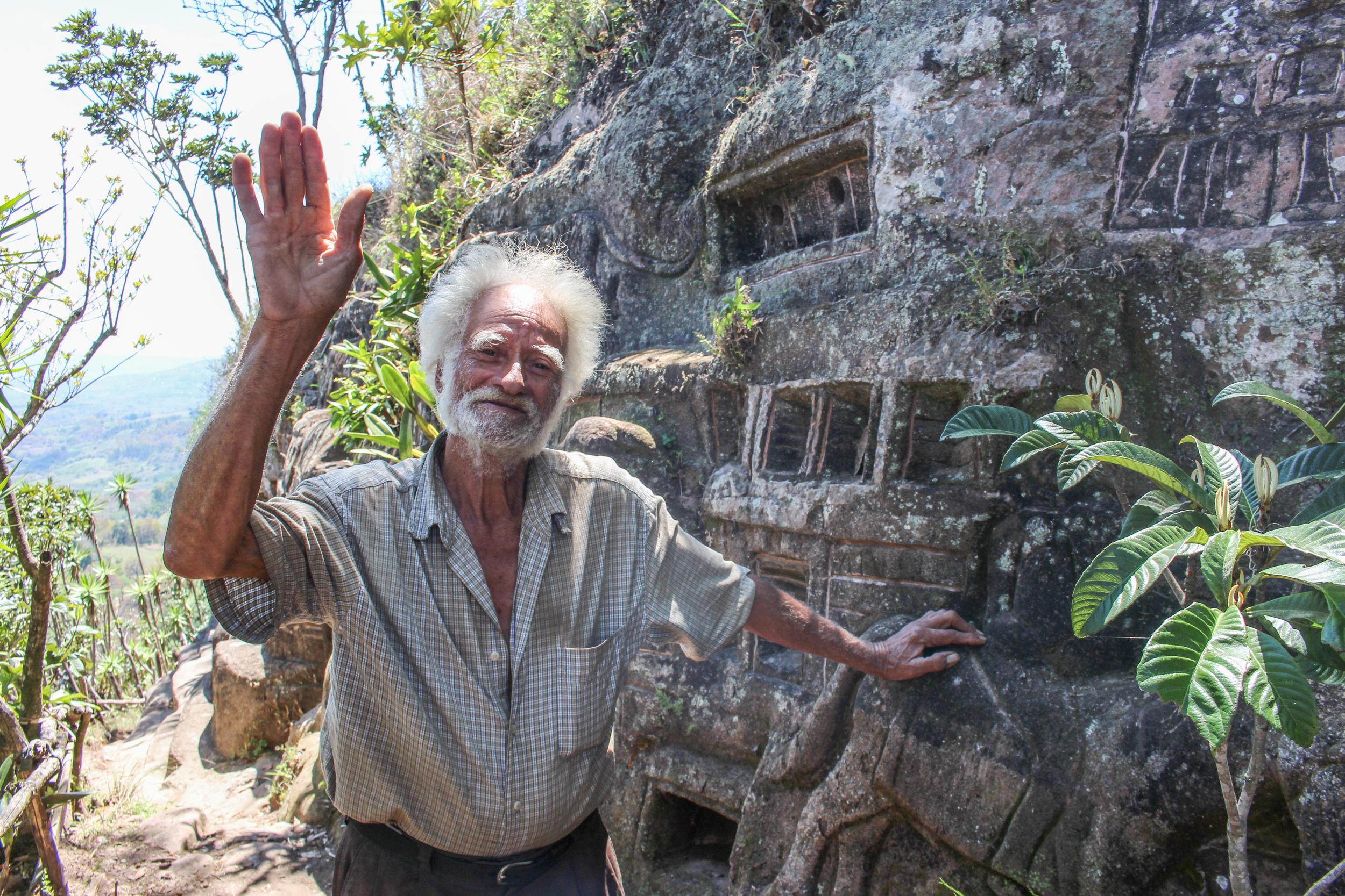 Alberto Gutiérrez, 'The Stone Man'