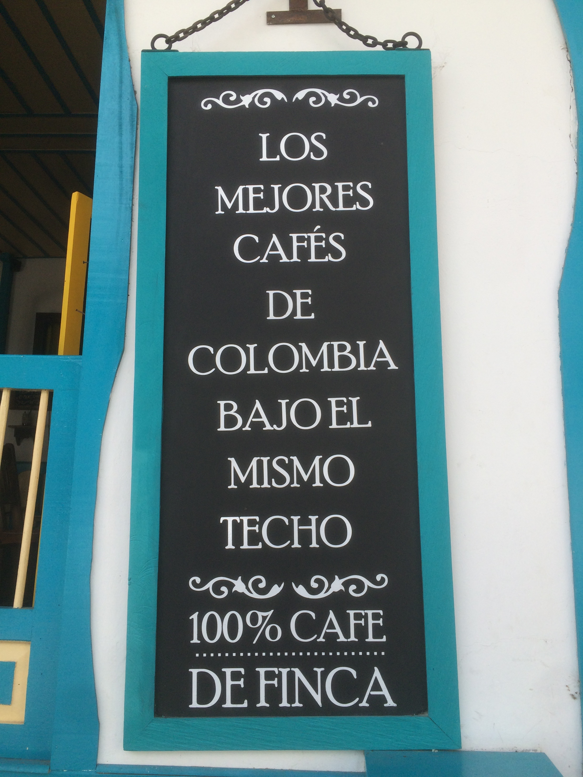 'The best Colombian coffee all under one roof'