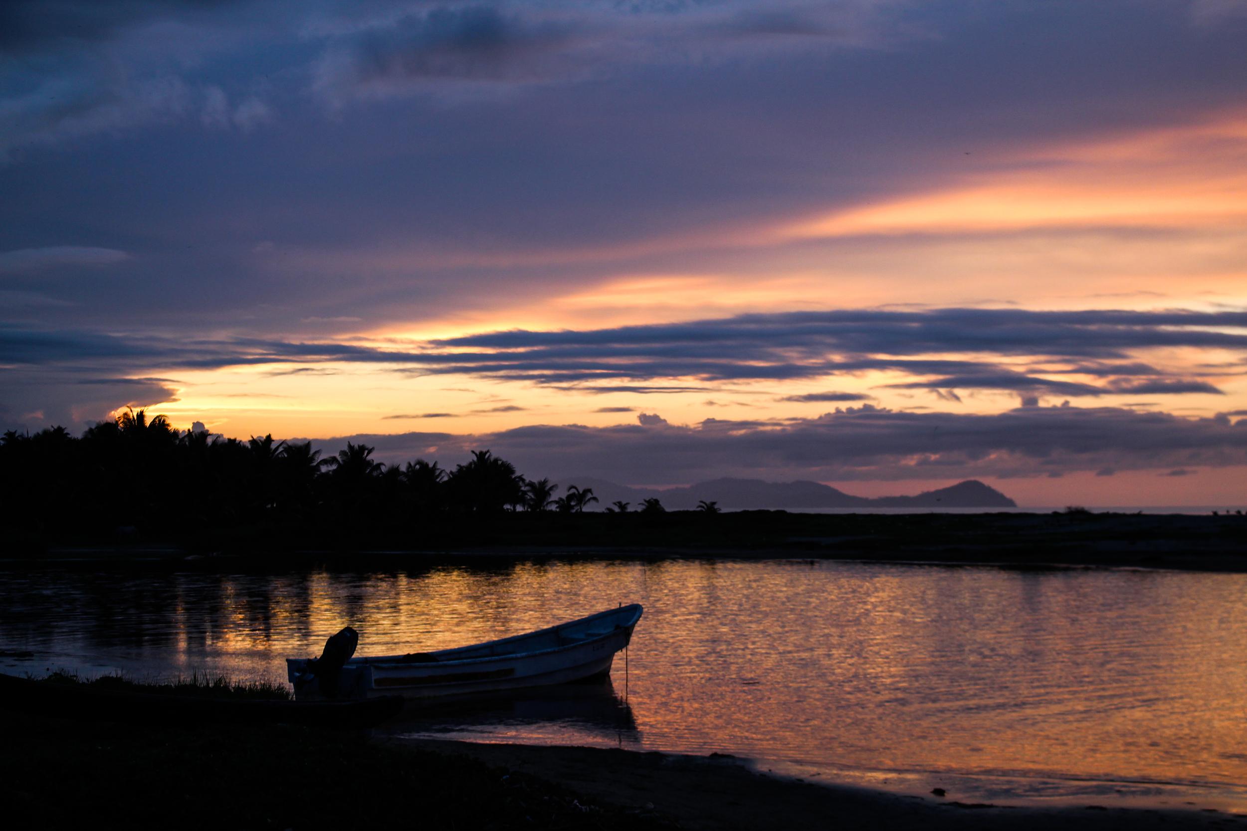 Sunset in Armila, Panama