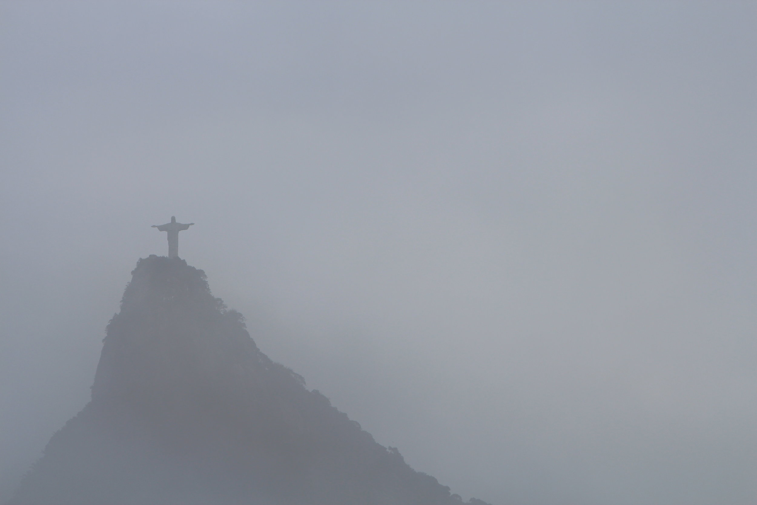 Even Christ the Redeemer is powerless to intervene