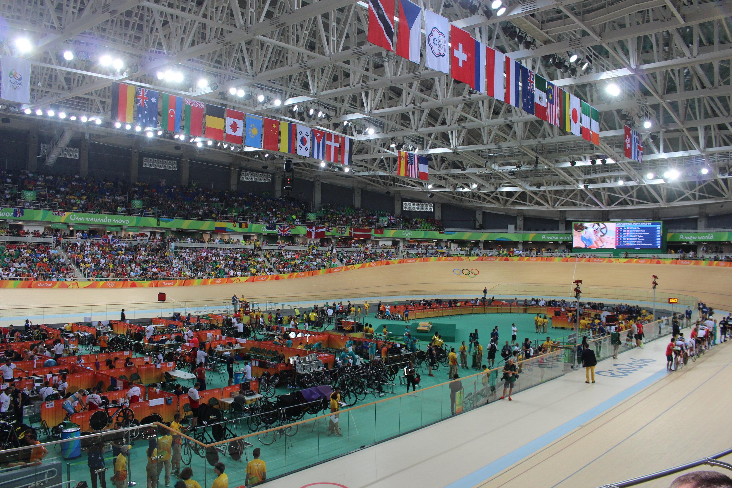 The Olympic Velodrome