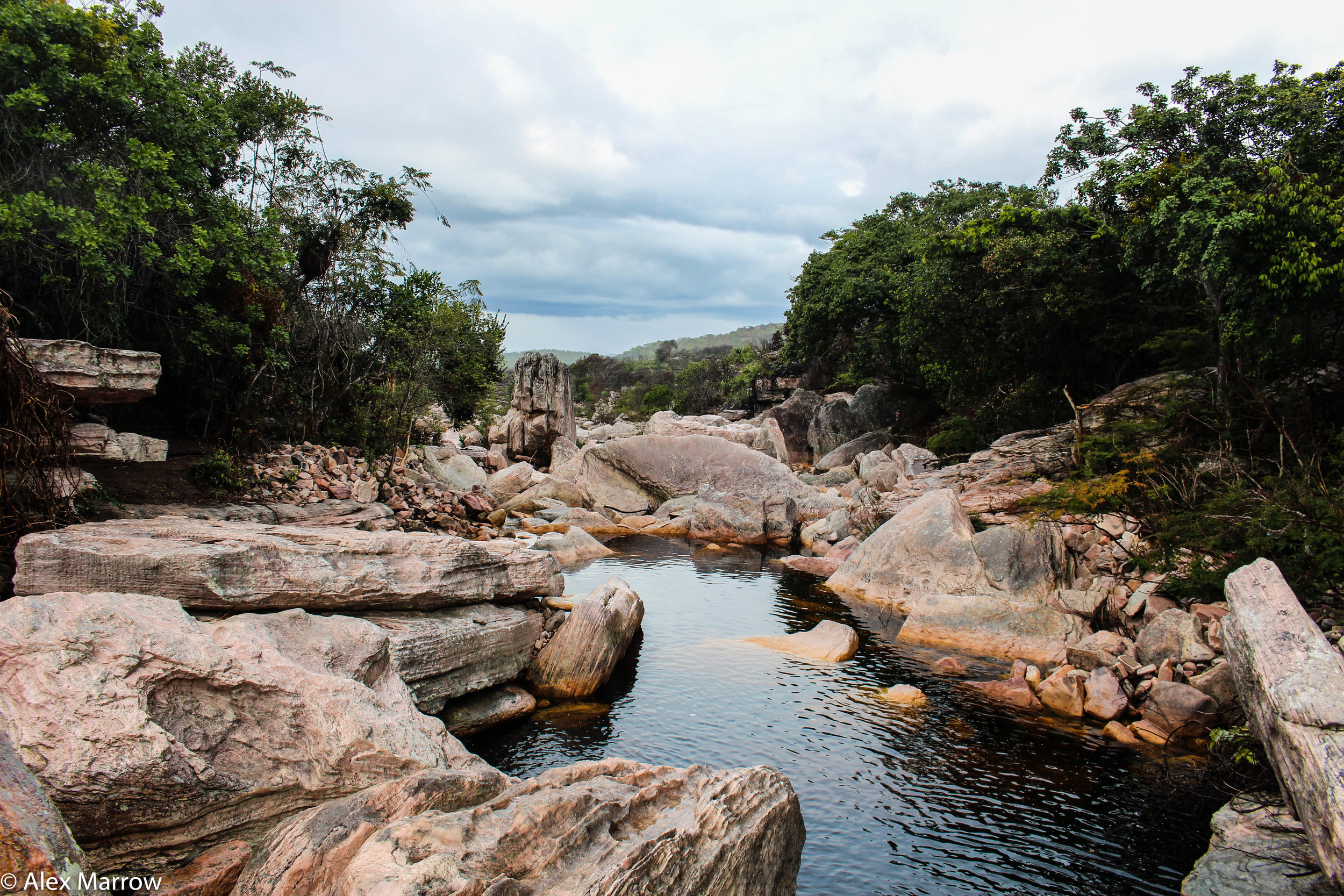 Rio Murcuzinho, Chapada Diamantina