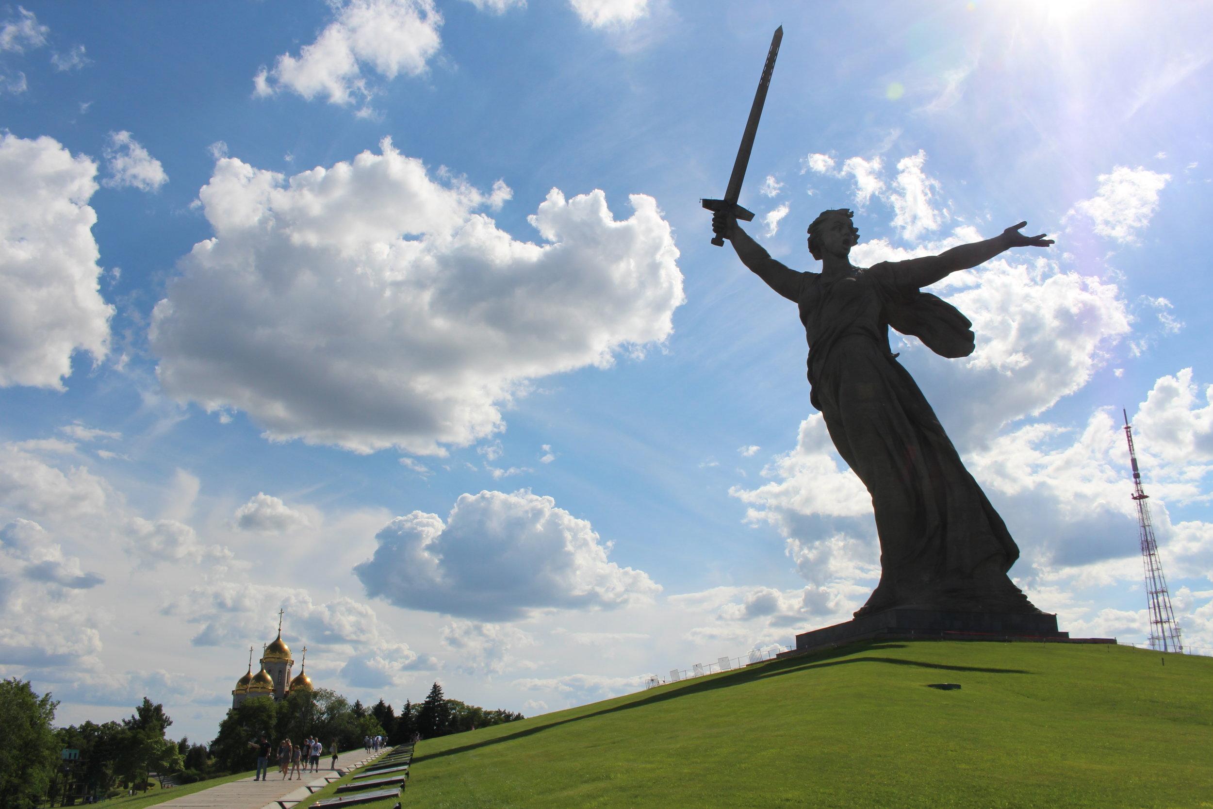 'The Motherland Calls' Monument, Volgograd