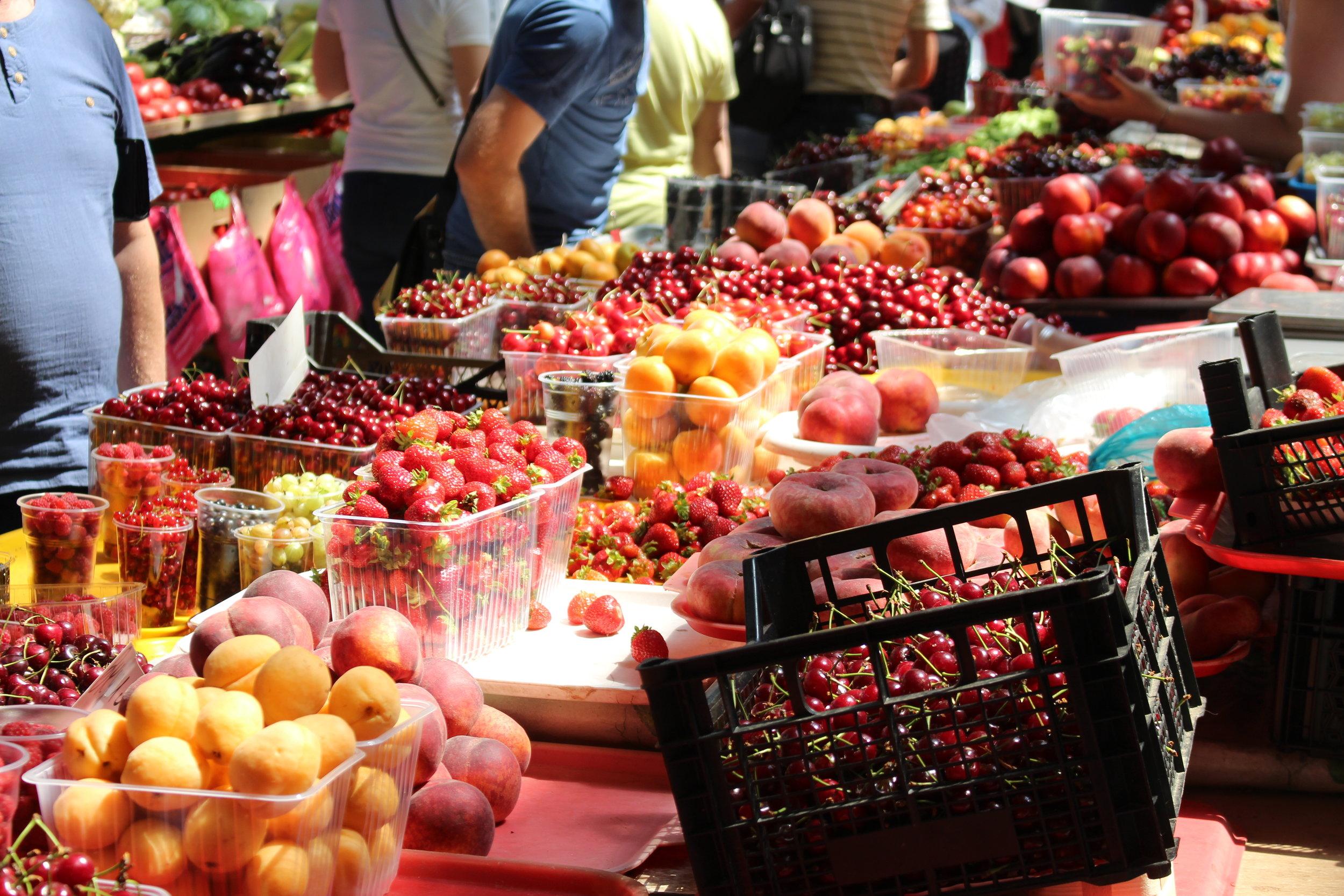 The fruit market, Rostov-on-Don