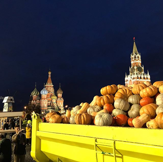 Absolutely pump(kin)ed to be back #moscow #pumpkin #тиква #тикда