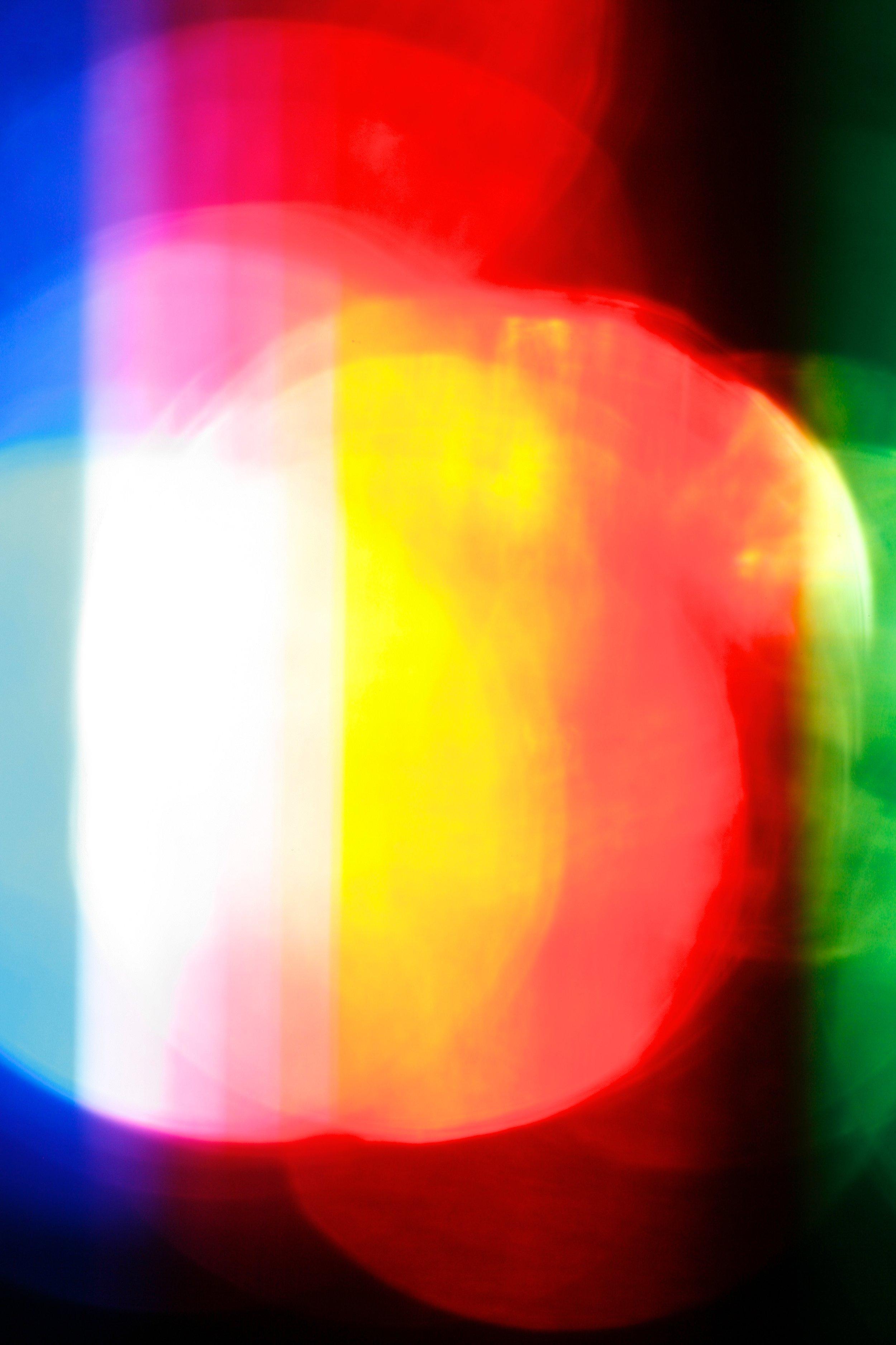 LED light through glass
