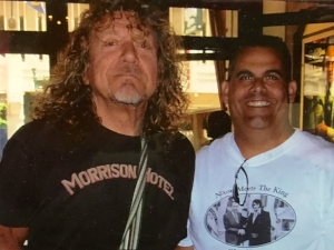 Robert Plant wasn't avail to Tweet, so we figured we would get the guy on the right here - Darryl Alber.