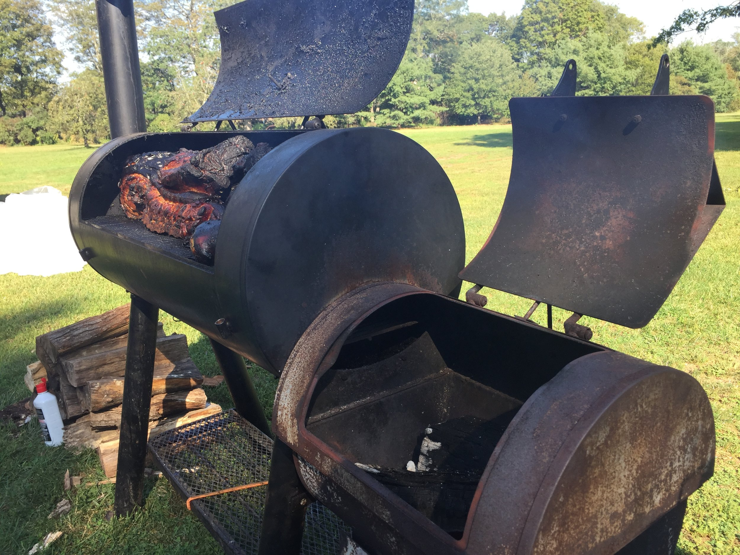 LECHON PIG ROAST - Our local organic pig roast!Served With: Mexican Street CornRoasted Sweet PotatoSpanish RiceSmoked SalsaTortillas$29 Per Person