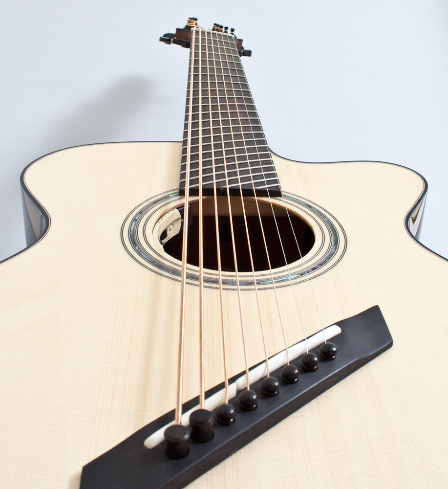 8 String acoustic guitar