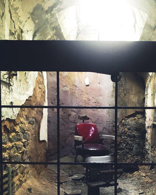 Barbershop • Eastern State Penitentiary
