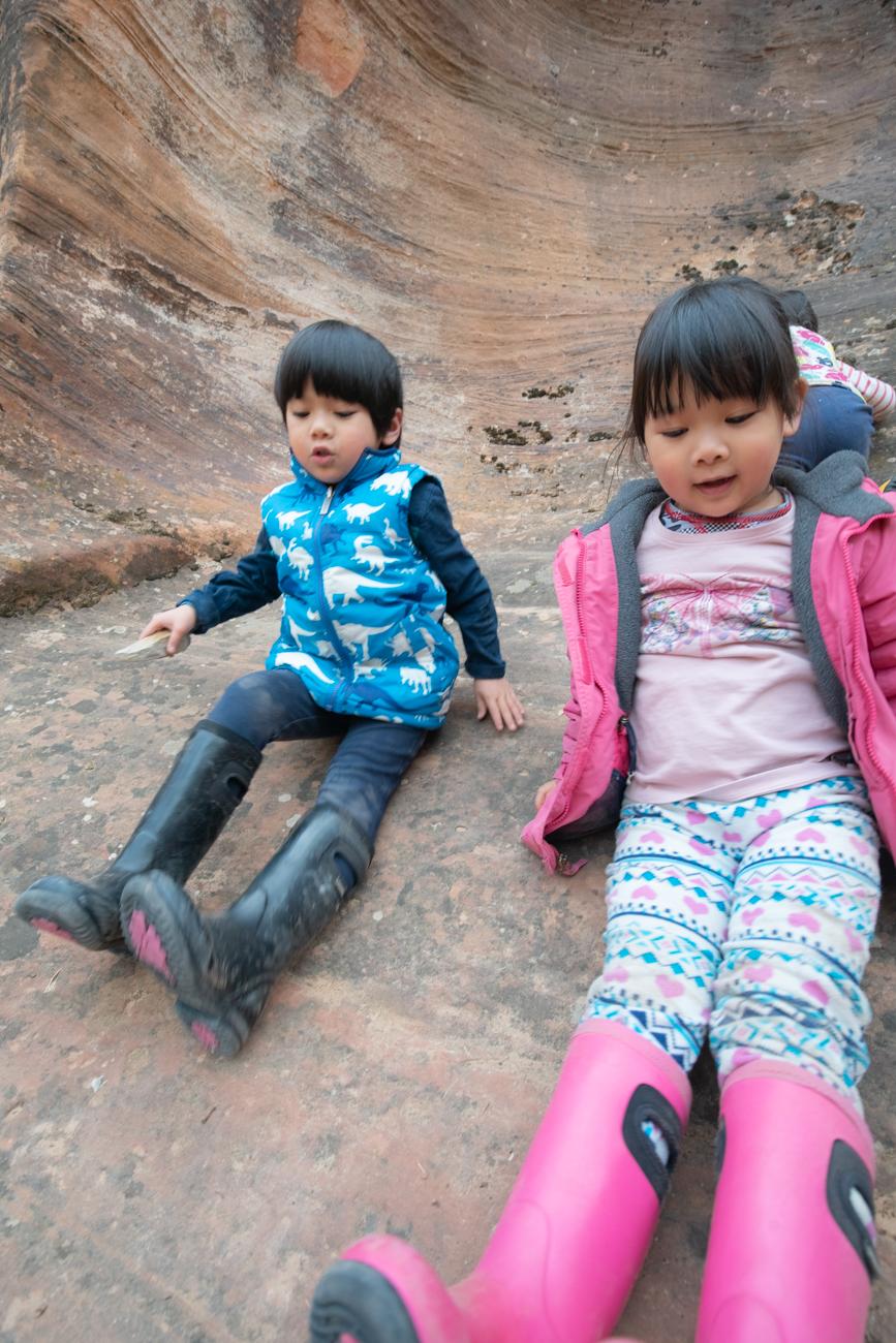 Kid's love climbing