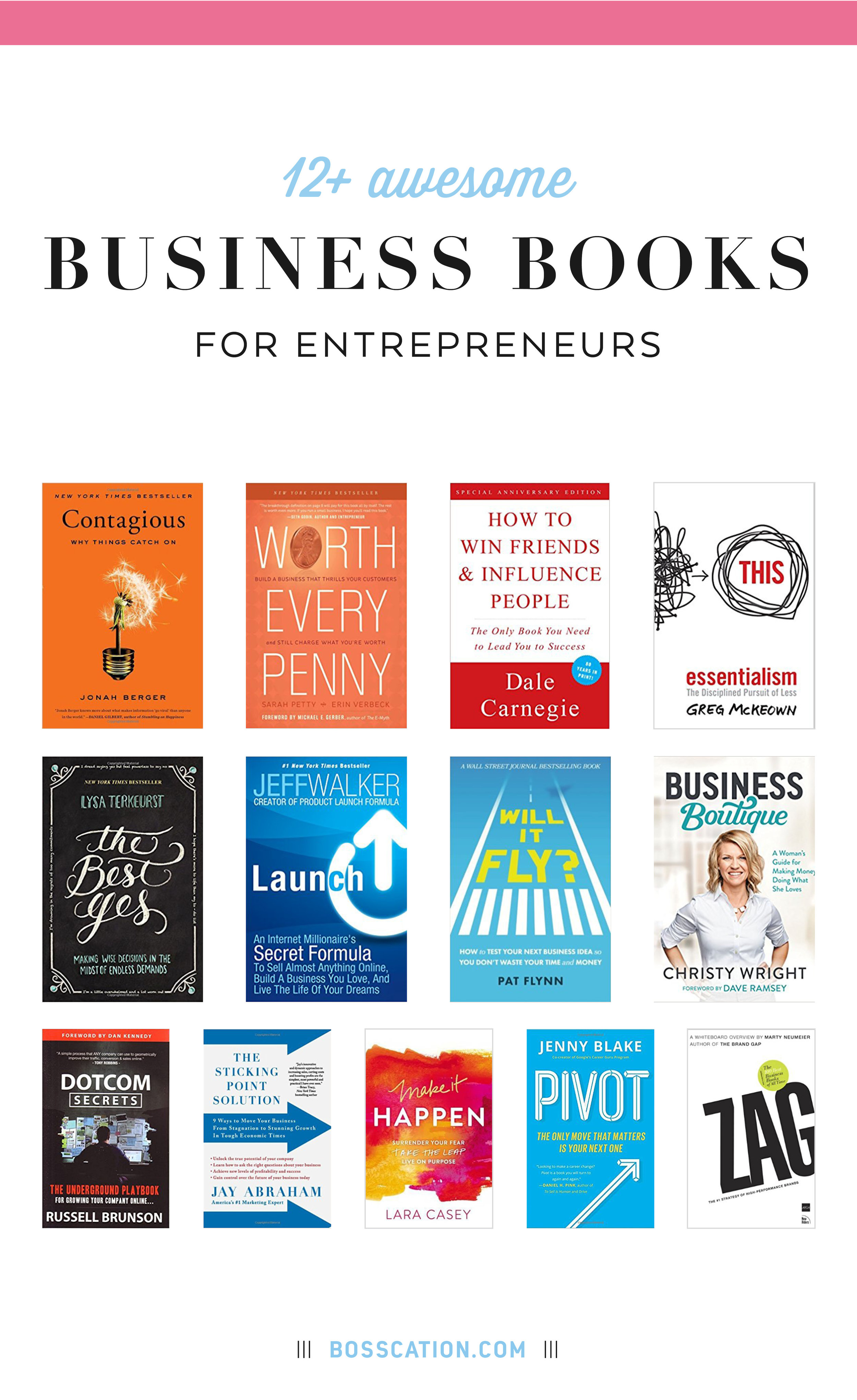 Looking for some good books for entrepreneurs and small businesses? Here are some of my favorite biz books. Find books on pricing, launching, testing your ideas, learning to set boundaries and say no, starting a new business and growing your list via funnels. Would make for a great Christmas wish list or gifts.