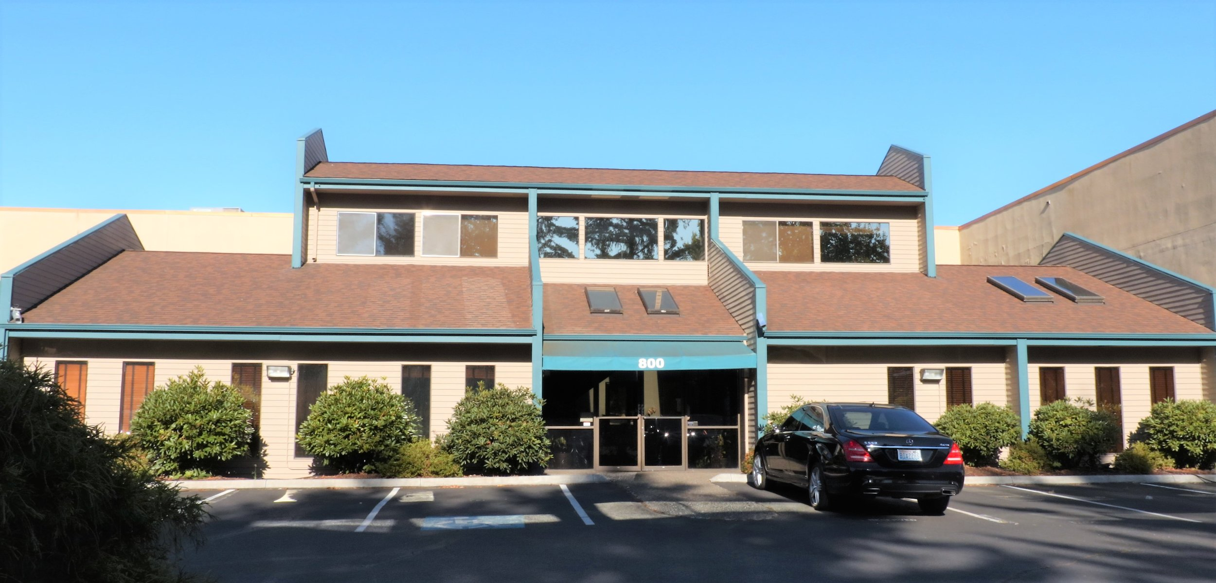 Our office, located at 800 N Devine Road in Vancouver, WA, since 1982.