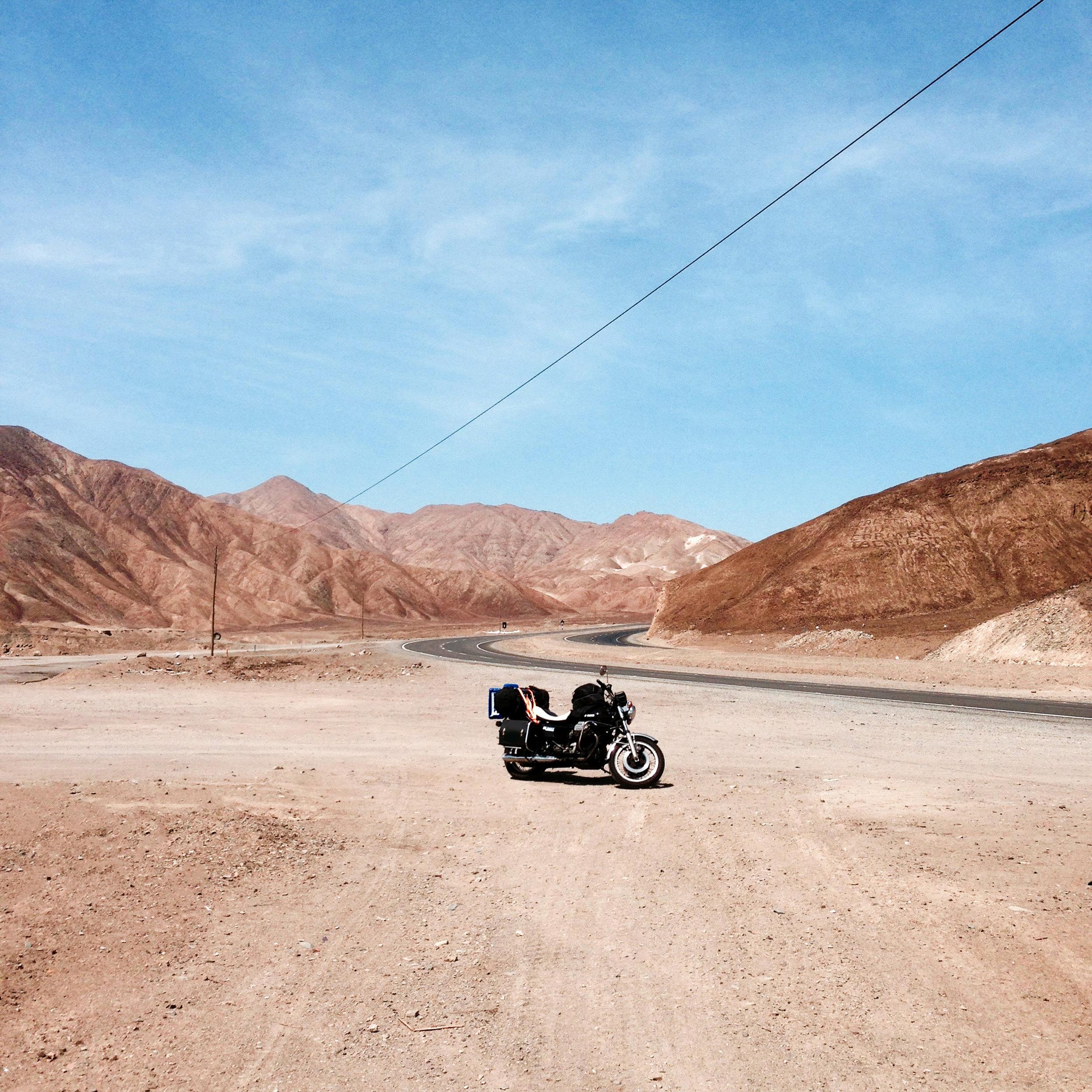 Desert in Peru