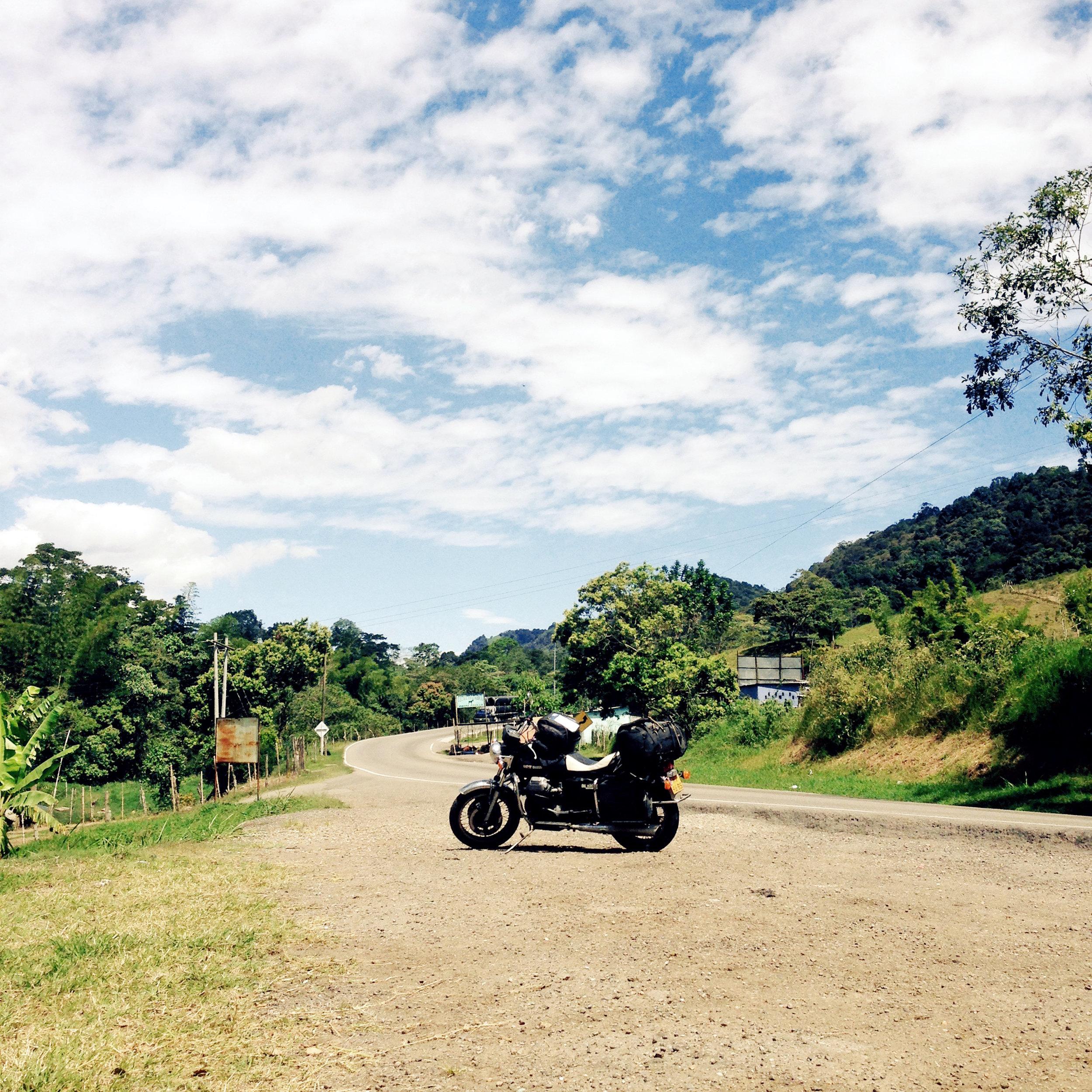 En el sur de Colombia