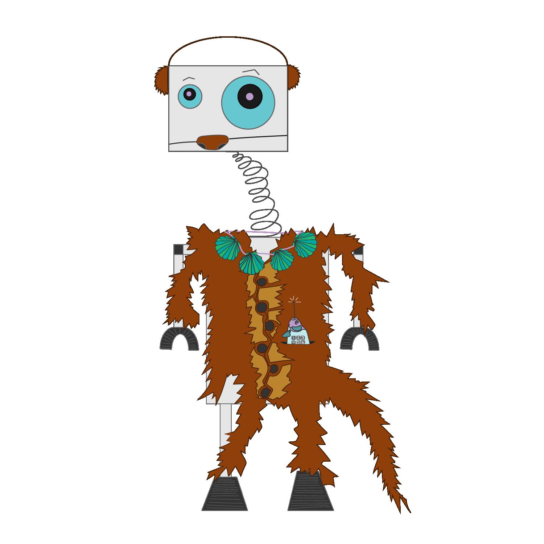 RobOtter   2016 Digital illustration 4000 px x 4000 px  More information