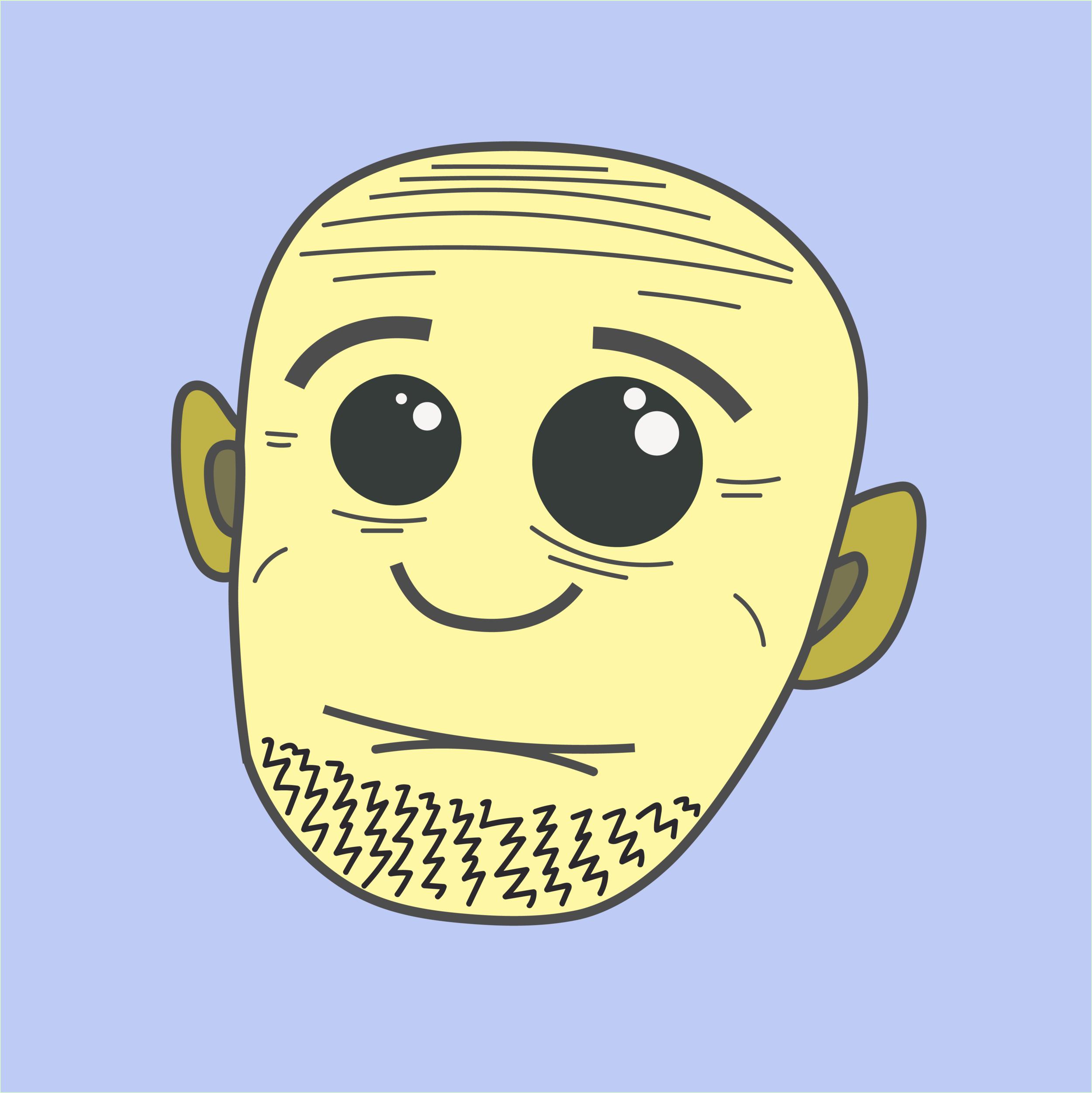 Worried Wesley  2018 Digital illustration 8000 px x 8000 px