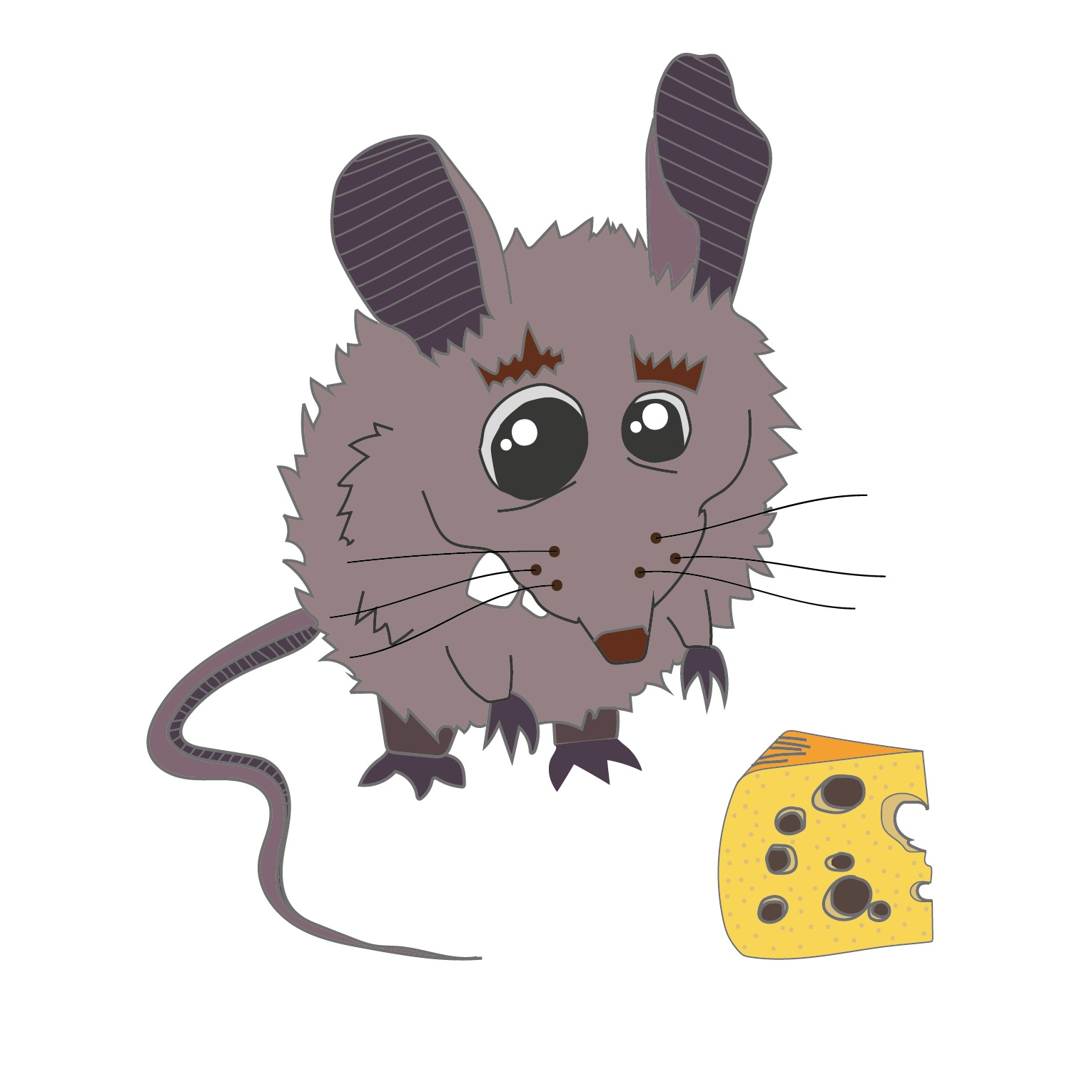Bettina the Mouse  2016 Digital illustration 1190 px x 840 px  More information