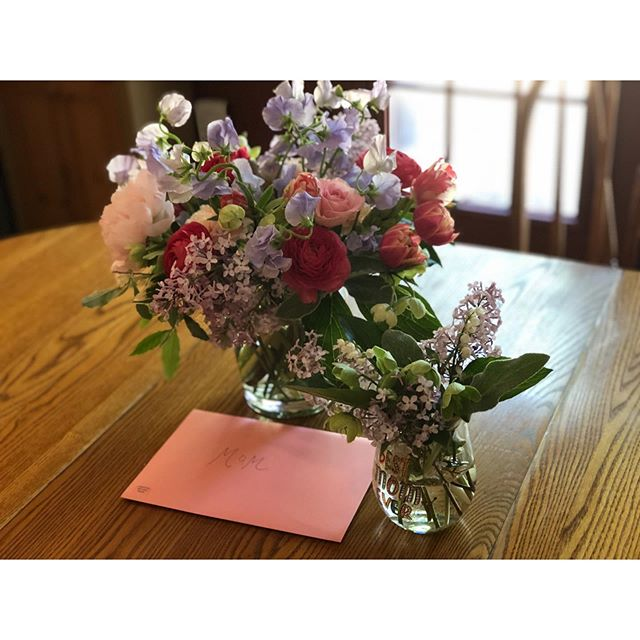 Especially as I get a bit older, I appreciate my mom more and more. Thank you, mom, for everything you did for us. So happy to celebrate her and all of the loving mothers who give so much. #mothersdaybouquet #springflowers #peonies #erincareyflorals