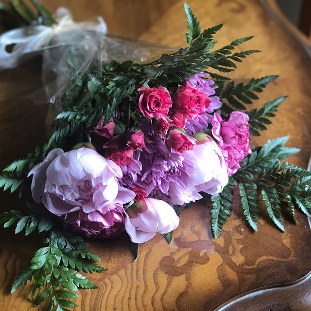 So excited to make sweet little ballerina bouquets for a dance recital on June 1. Peonies should be in full bloom! How special. #peonies #sprayroses #recitalbouquets #bouquets #springflowers