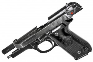 Italian-Pistol-Beretta-M92S-tilt