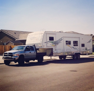 dodge with 38' fifth wheel