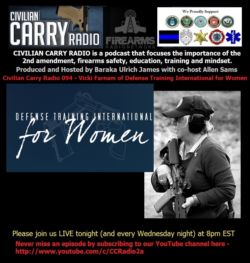 Civilian Carry Radio 094 - Vicki Farnam of Defense Training International for Women.jpg