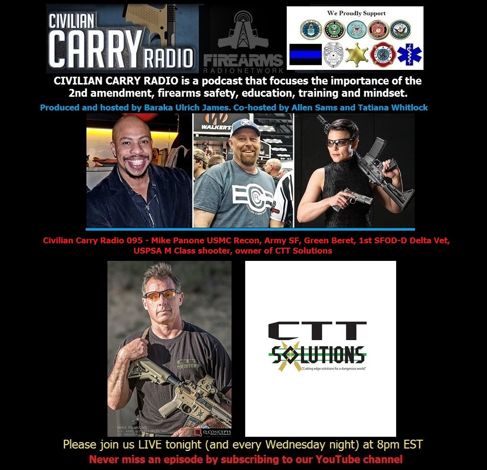 Civilian Carry Radio 095 - Mike Panone  owner of CTT Solutions.jpg