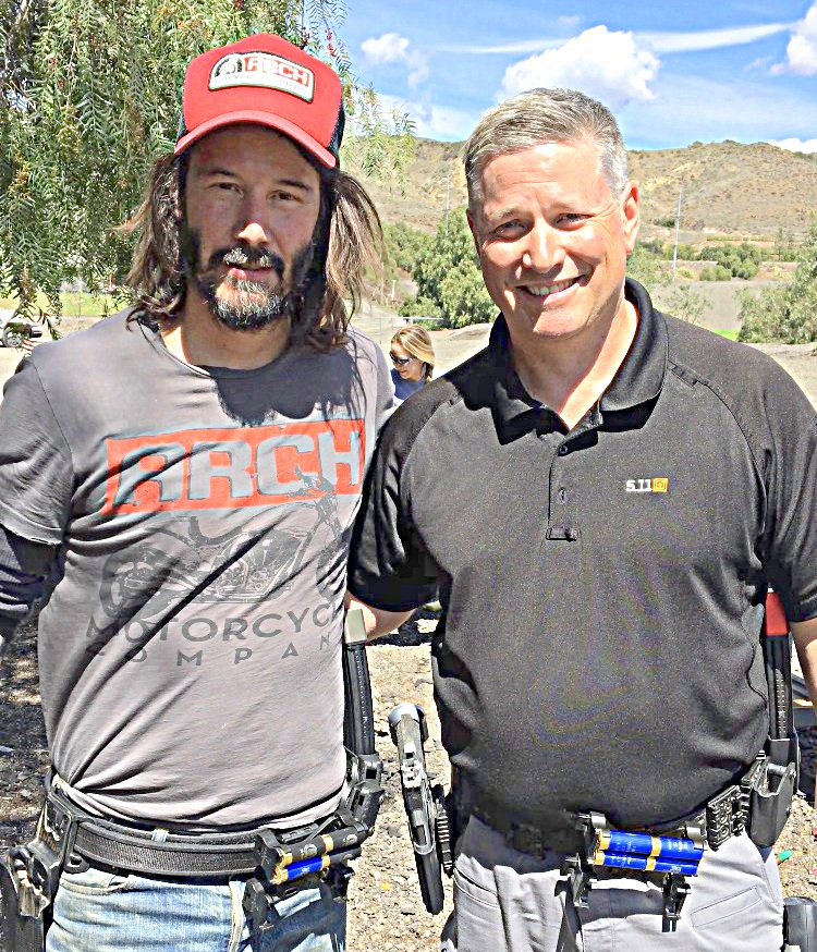 """LEADUCATING THE UNLEADUCATED""  KEITH GARCIA TRAINING KEANU REEVES FOR JOHN WICK 3 PARABELLUM"