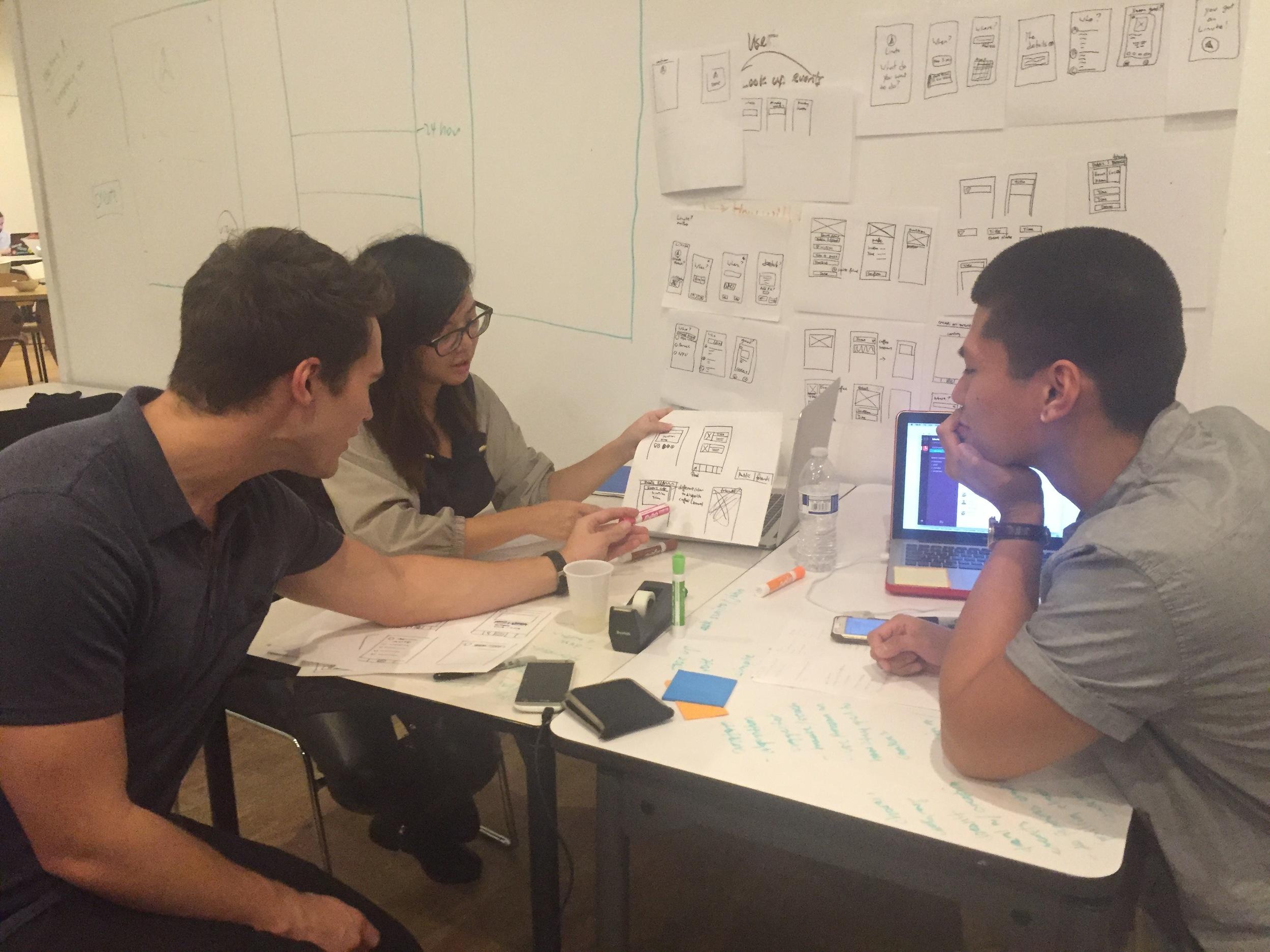 Presented design ideas