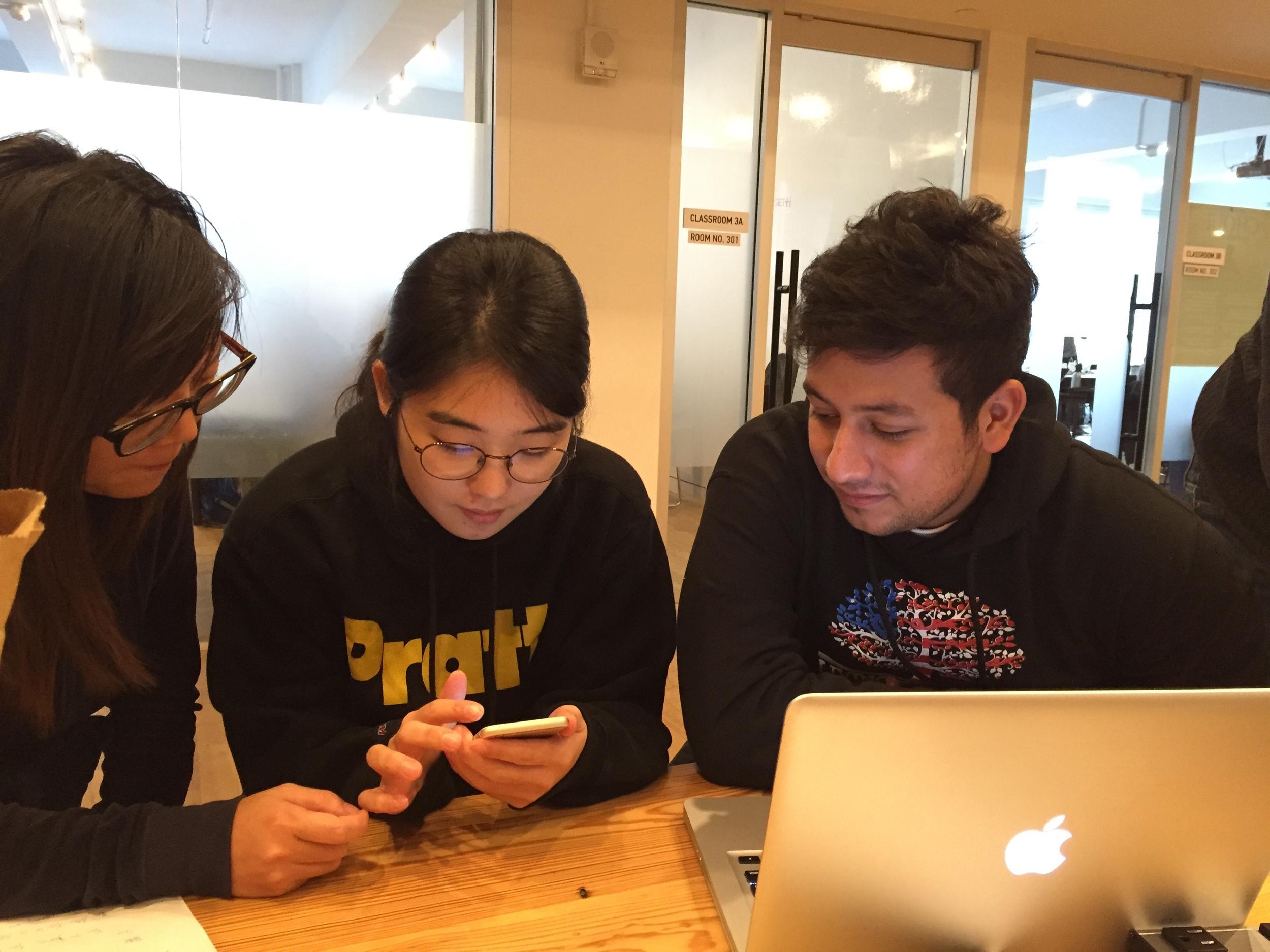Usability test with Sunjoo who is a Venmo user