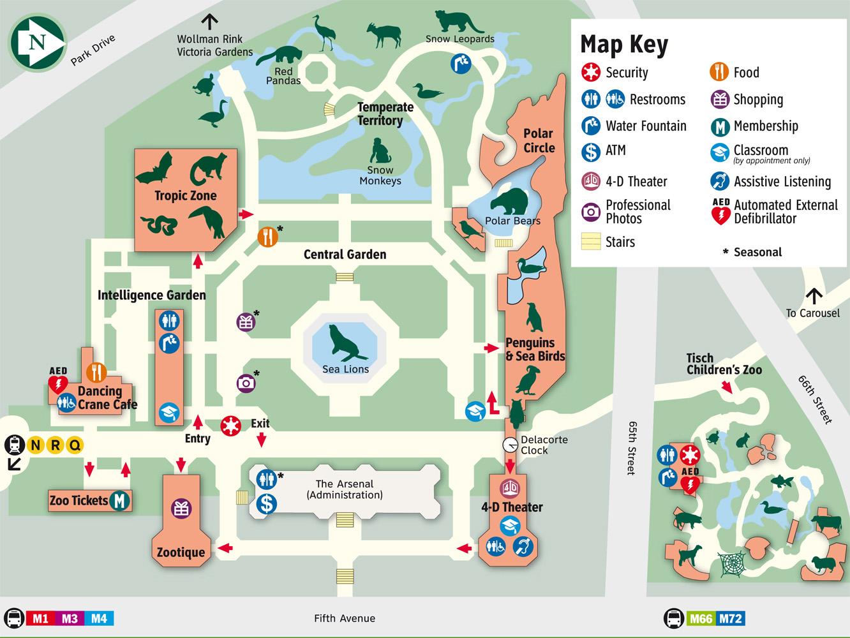 The Original Zoo Map