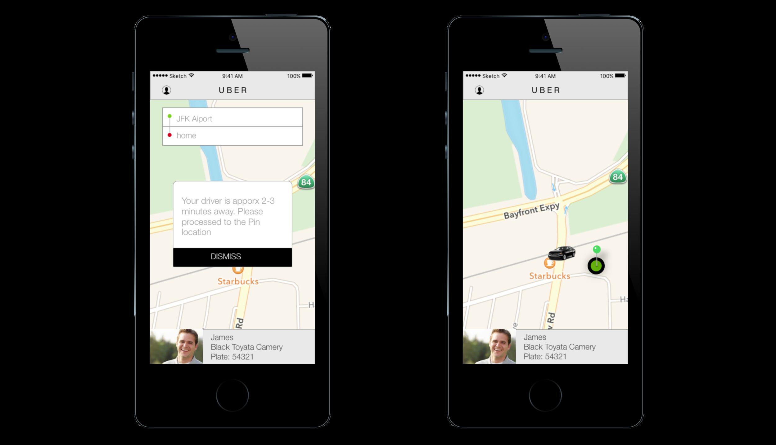 App for Uber passengers