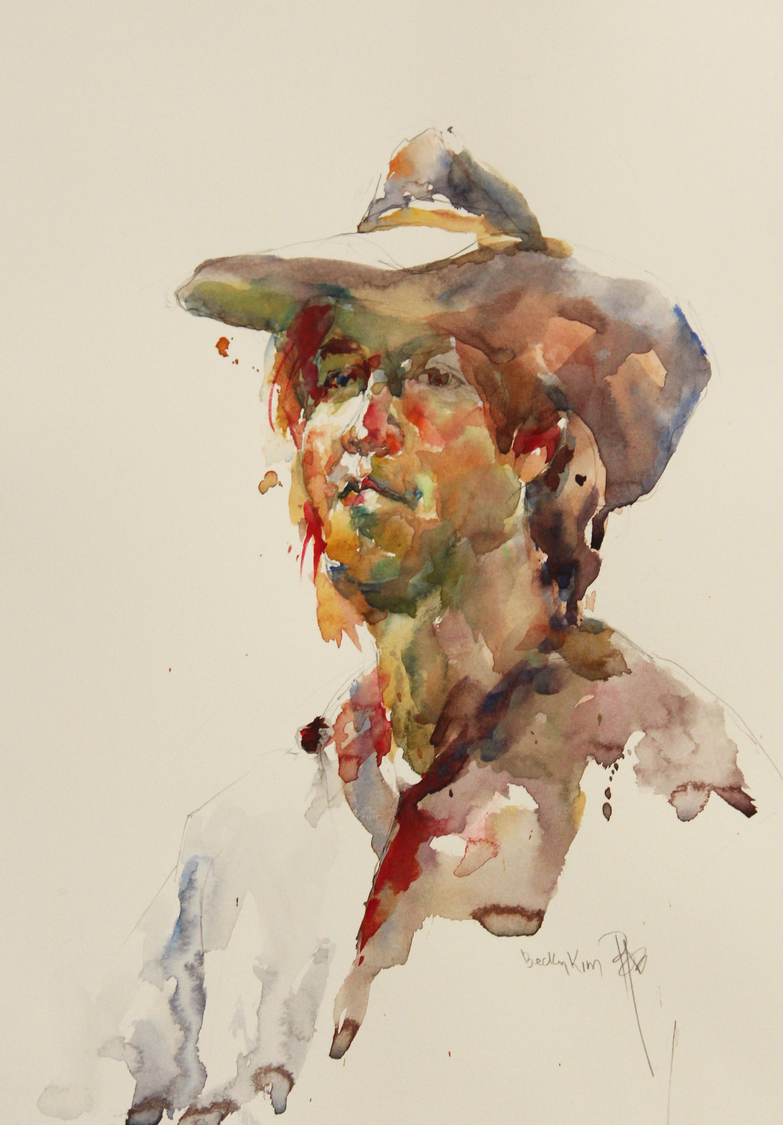 John | 14 x 11 in | Watercolor