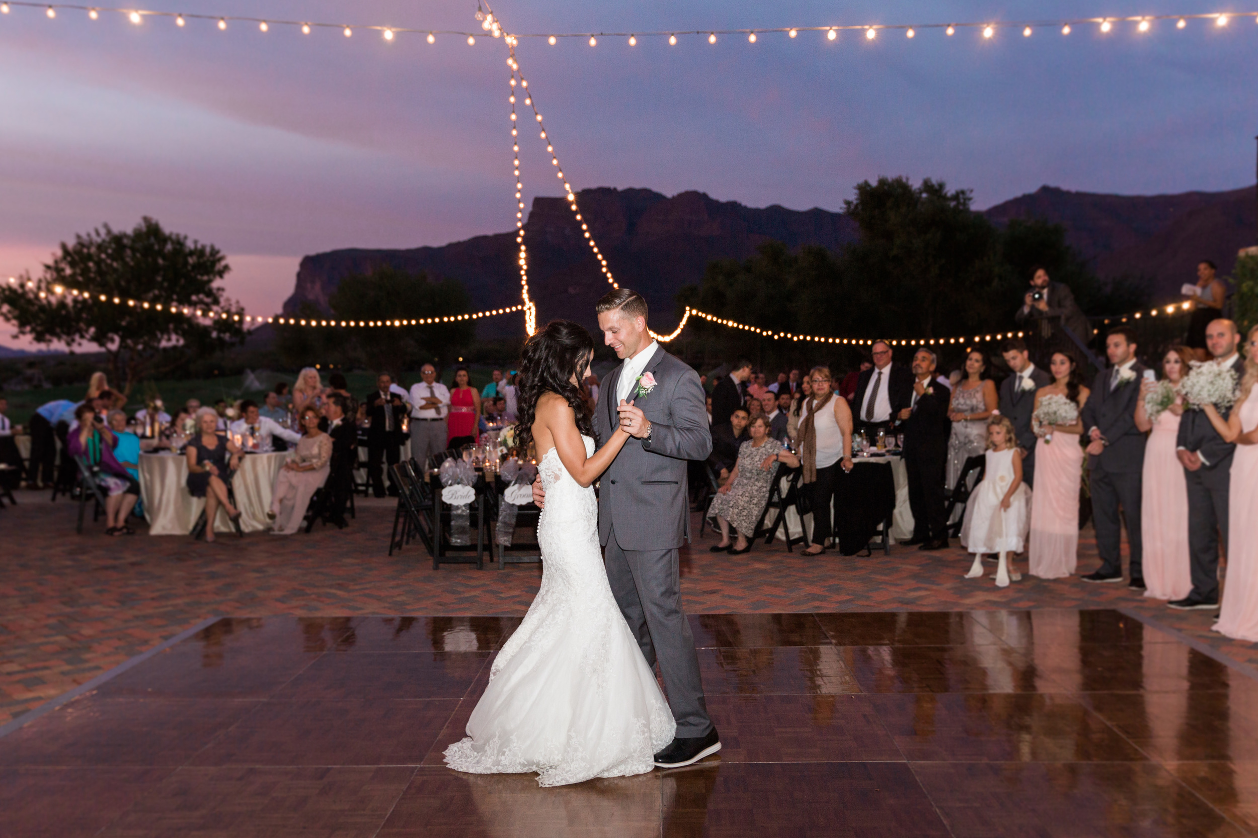 Superstition Mountain Golf Club Wedding | Phoenix Wedding Photographers | See more at BetsyandJohn.com