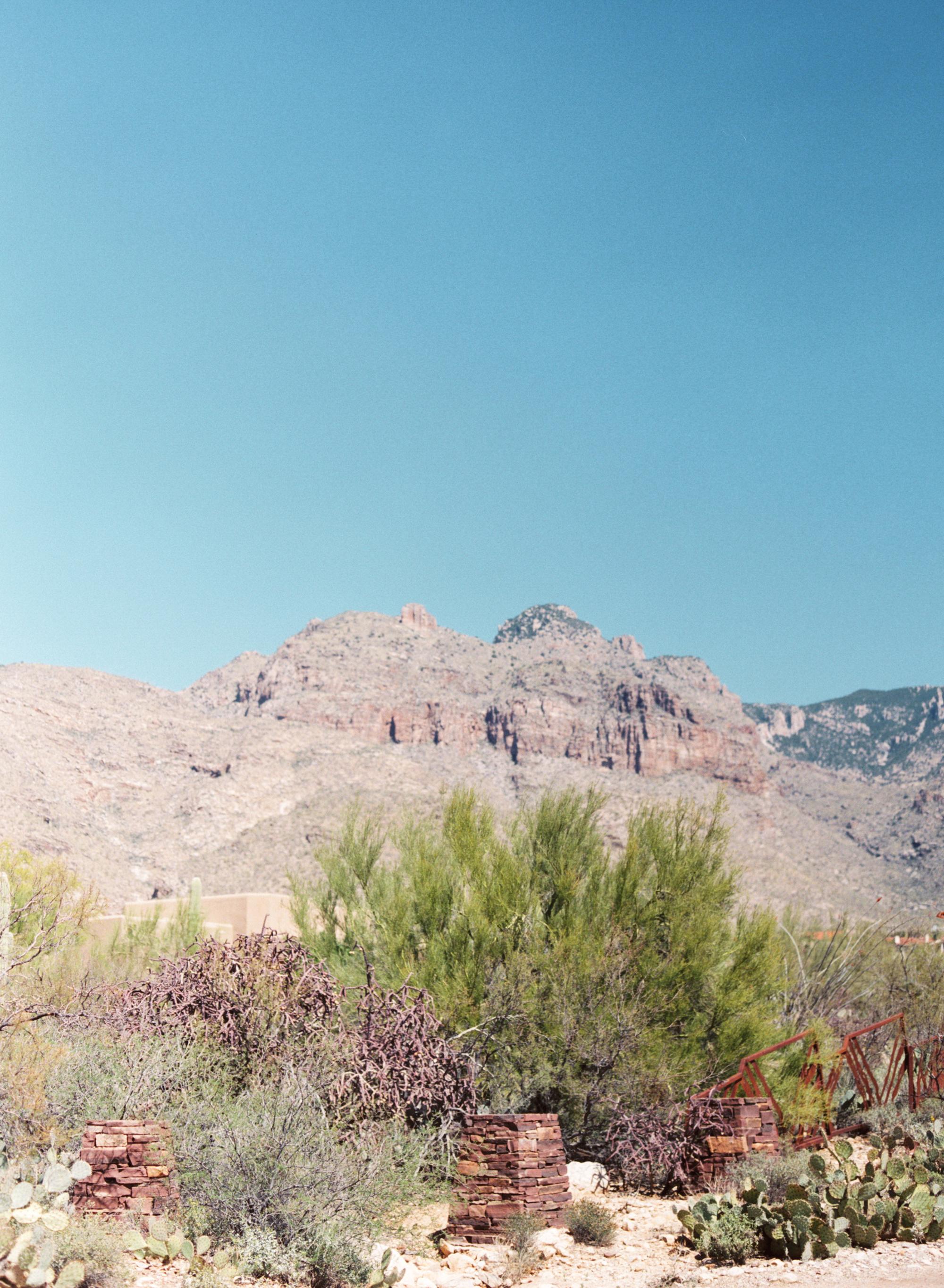 Catalina Foothills mountain views