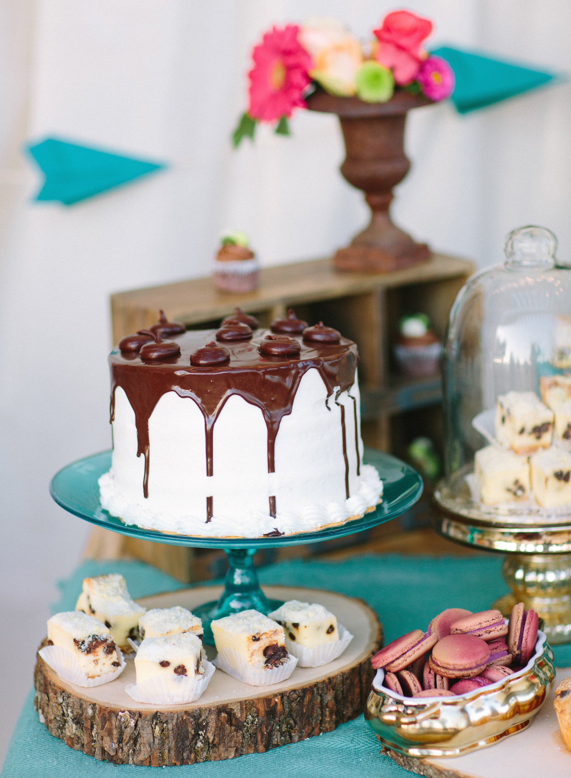 Gorgeous gluten free wedding cake
