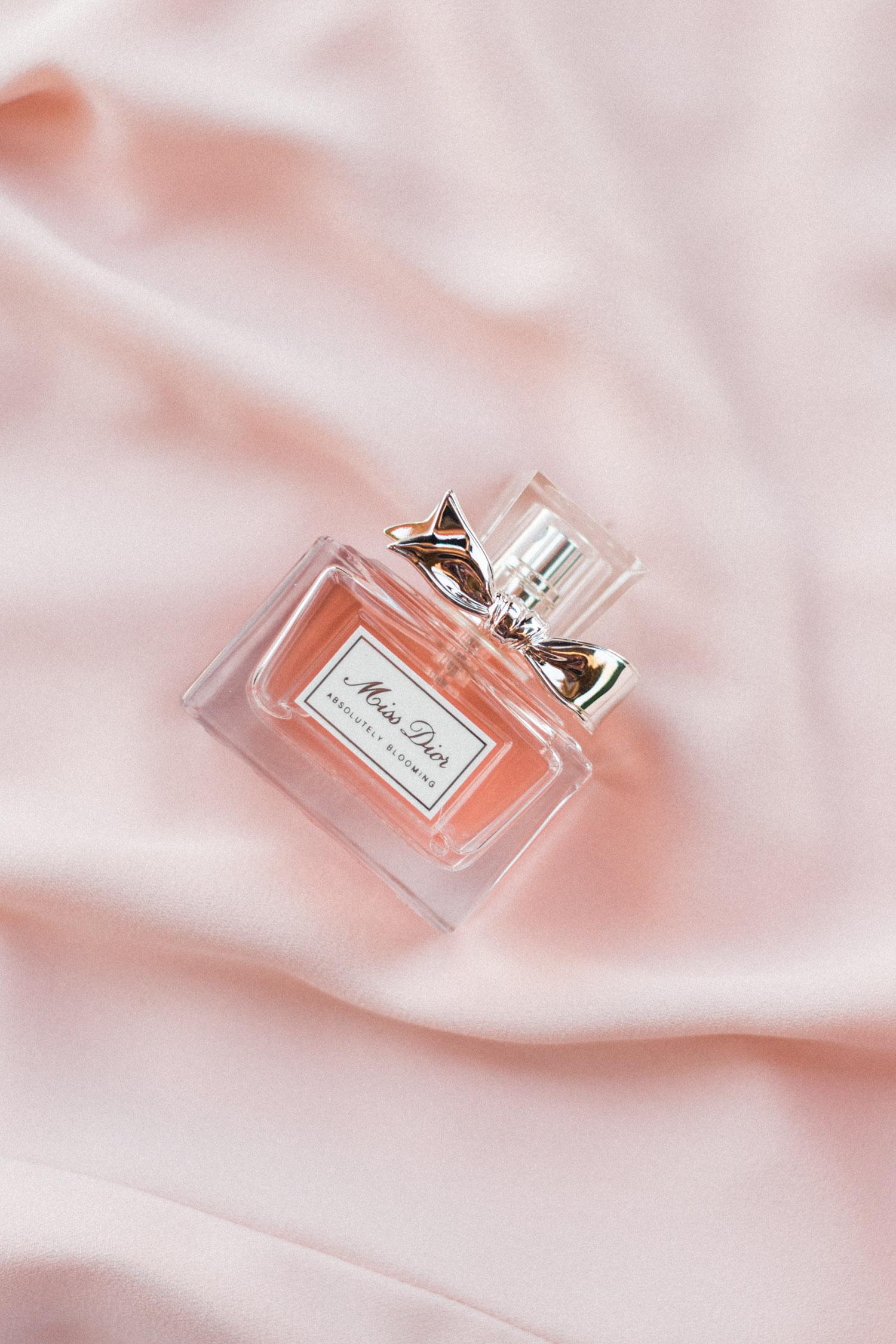 Bride's wedding day perfume