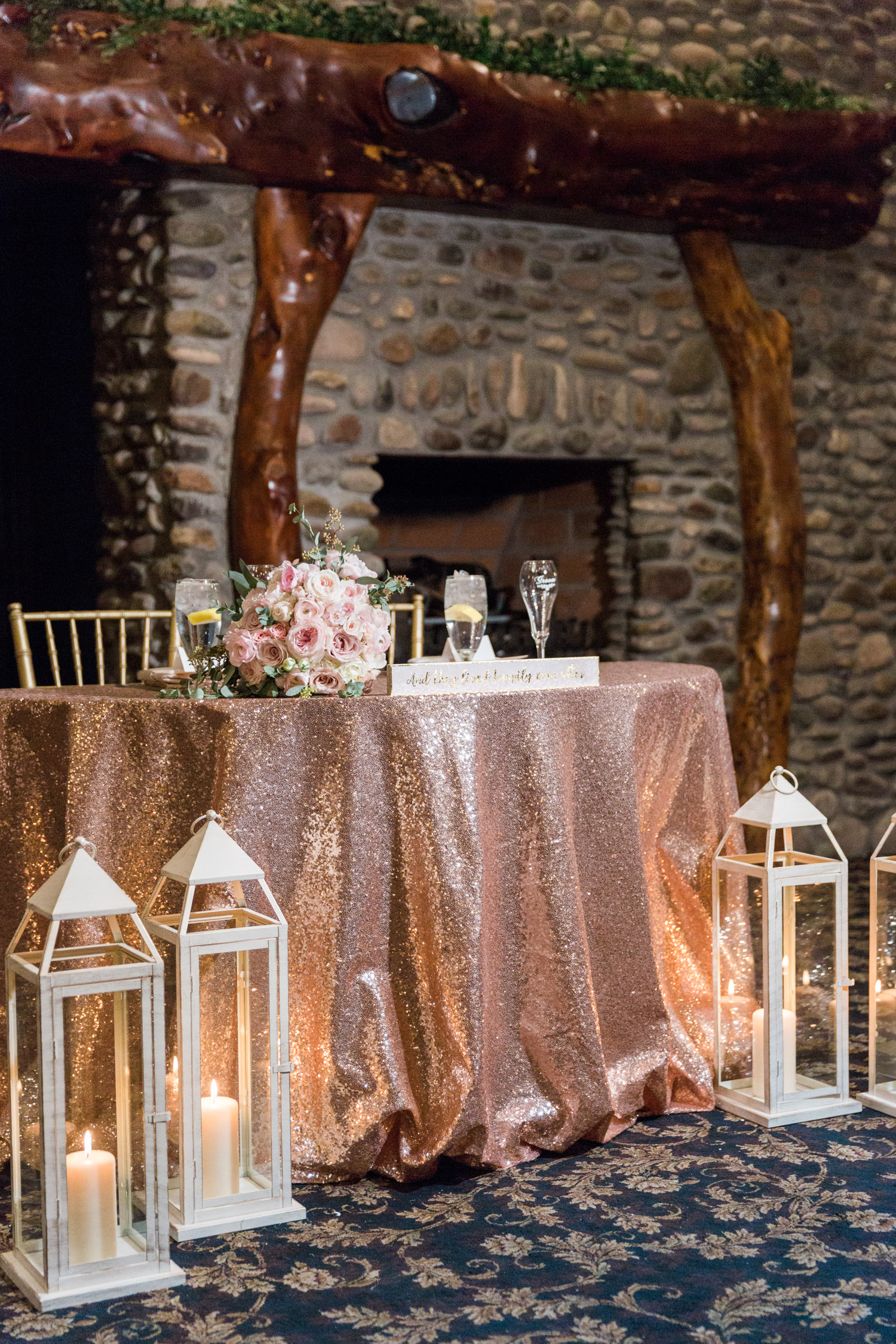 Warm and cozy blush wedding at Tubac Resort