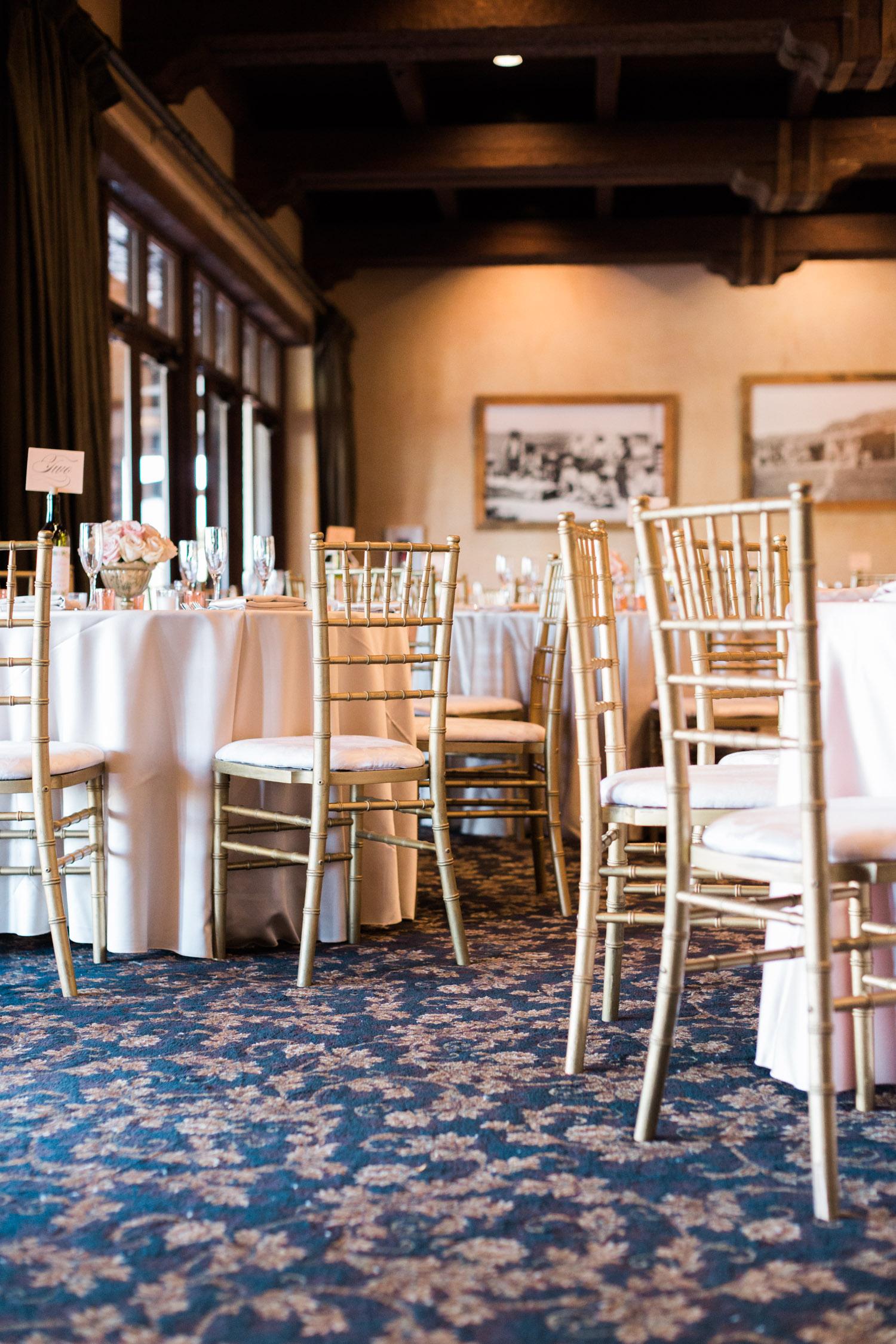 Ballroom wedding at Tubac Golf Resort