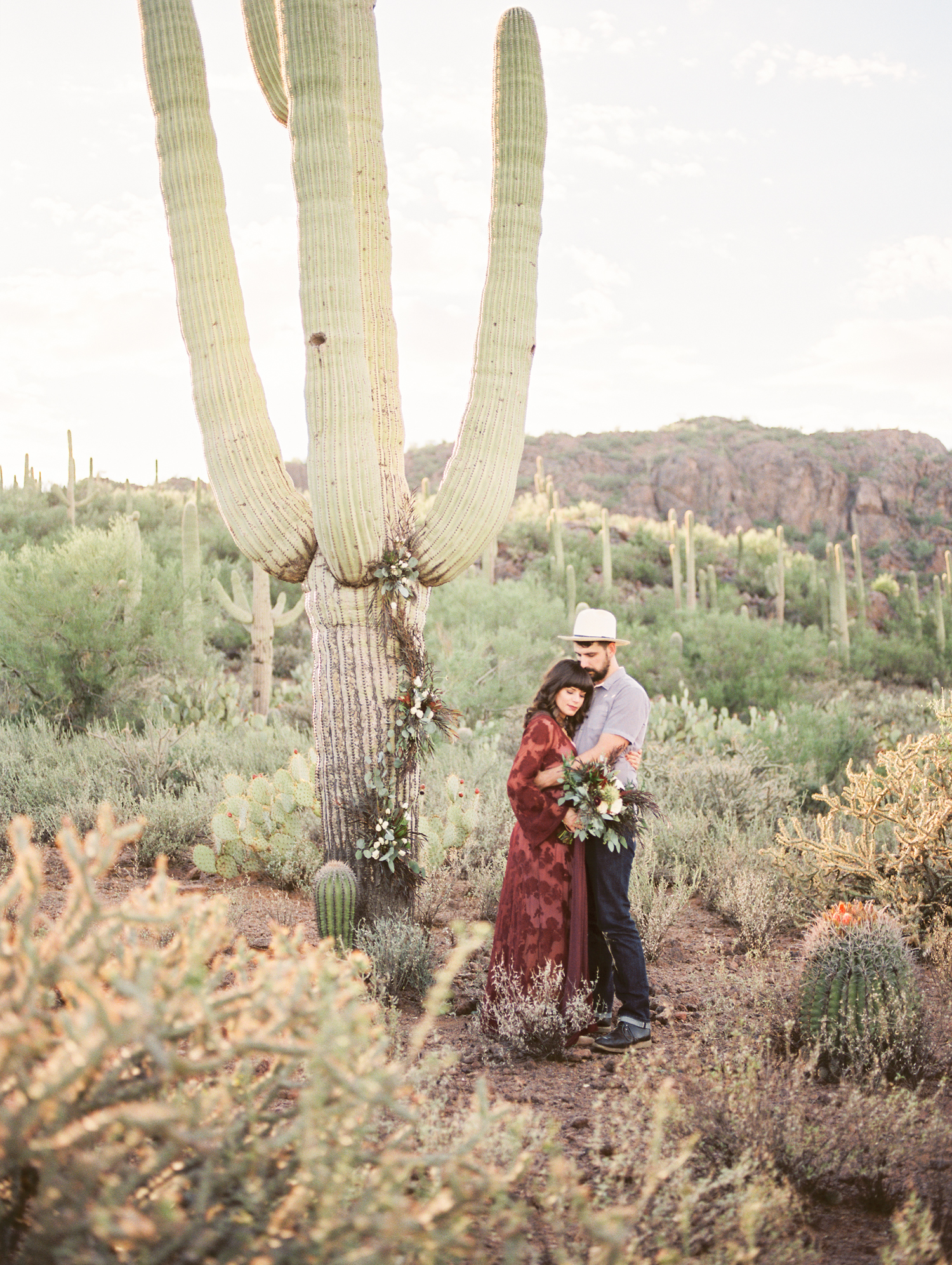 Stunning Tucson wedding in the desert