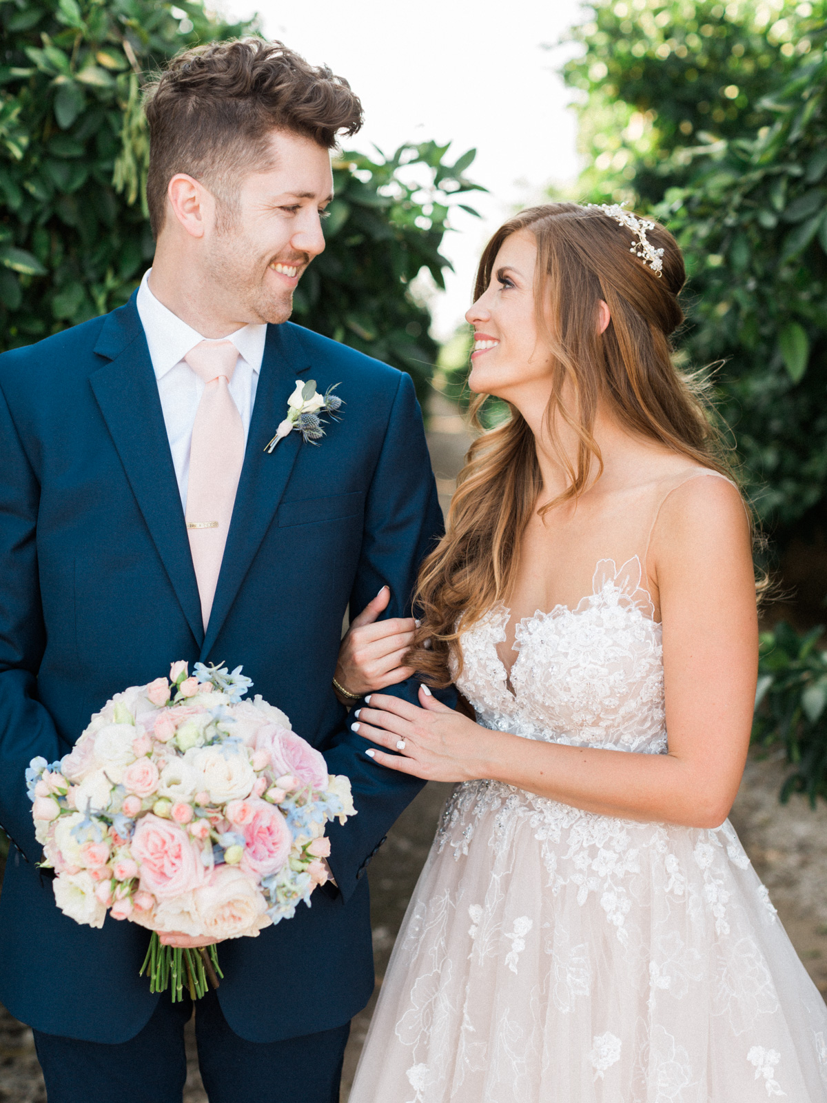 Harrison & Jocelyne's gorgeous Temecula wedding at Wiens Family Cellars captured by Betsy & John Photography | Temecula Film Photographers