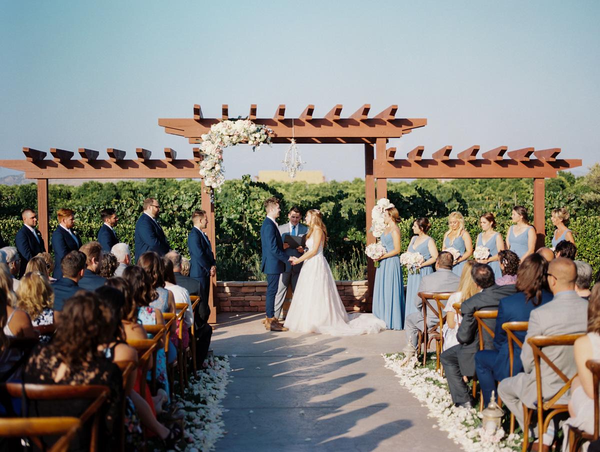 Harrison & Jocelyne's gorgeous Temecula wedding at Wiens Family Cellars captured by Betsy & John   Temecula Wedding Photographers