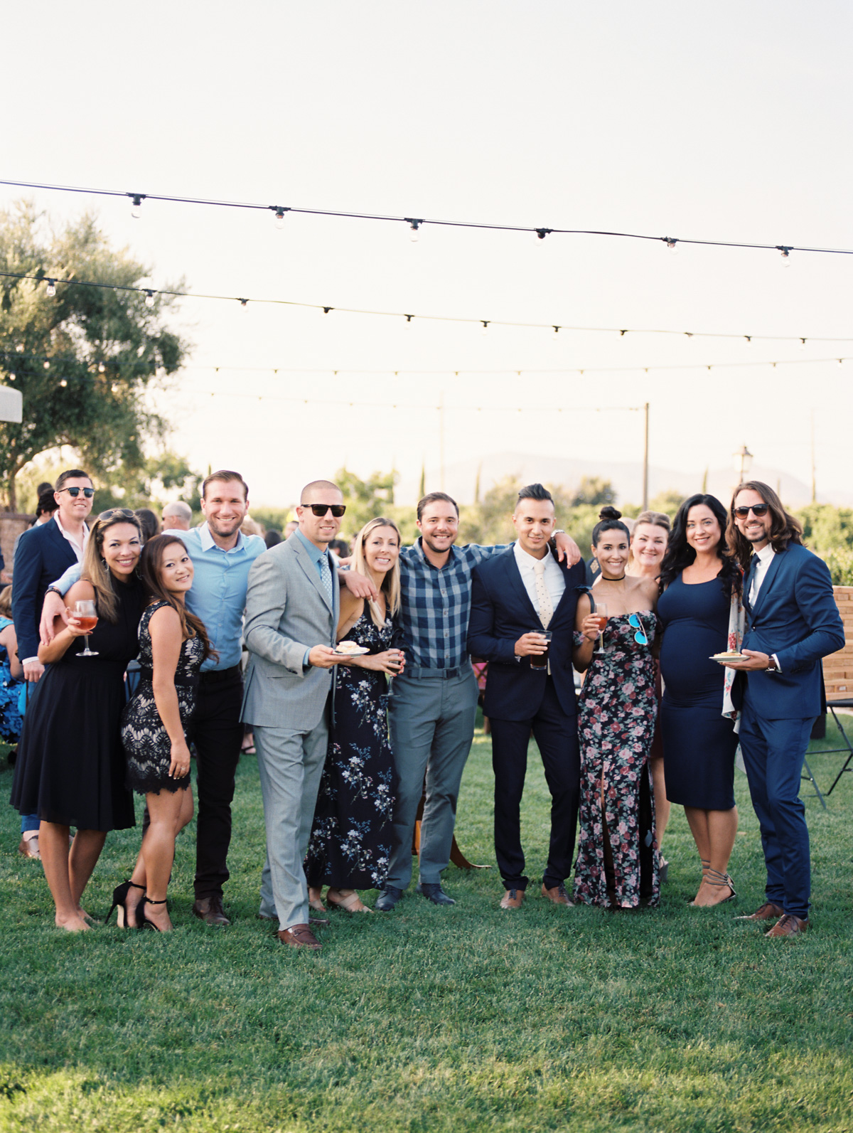 Cocktail Hour |Harrison & Jocelyne's gorgeous Temecula wedding at Wiens Family Cellars captured by Betsy & John Photography